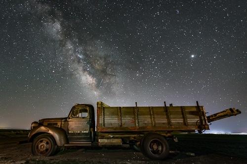Ol' Dodge Milky Way by Jim Talbert