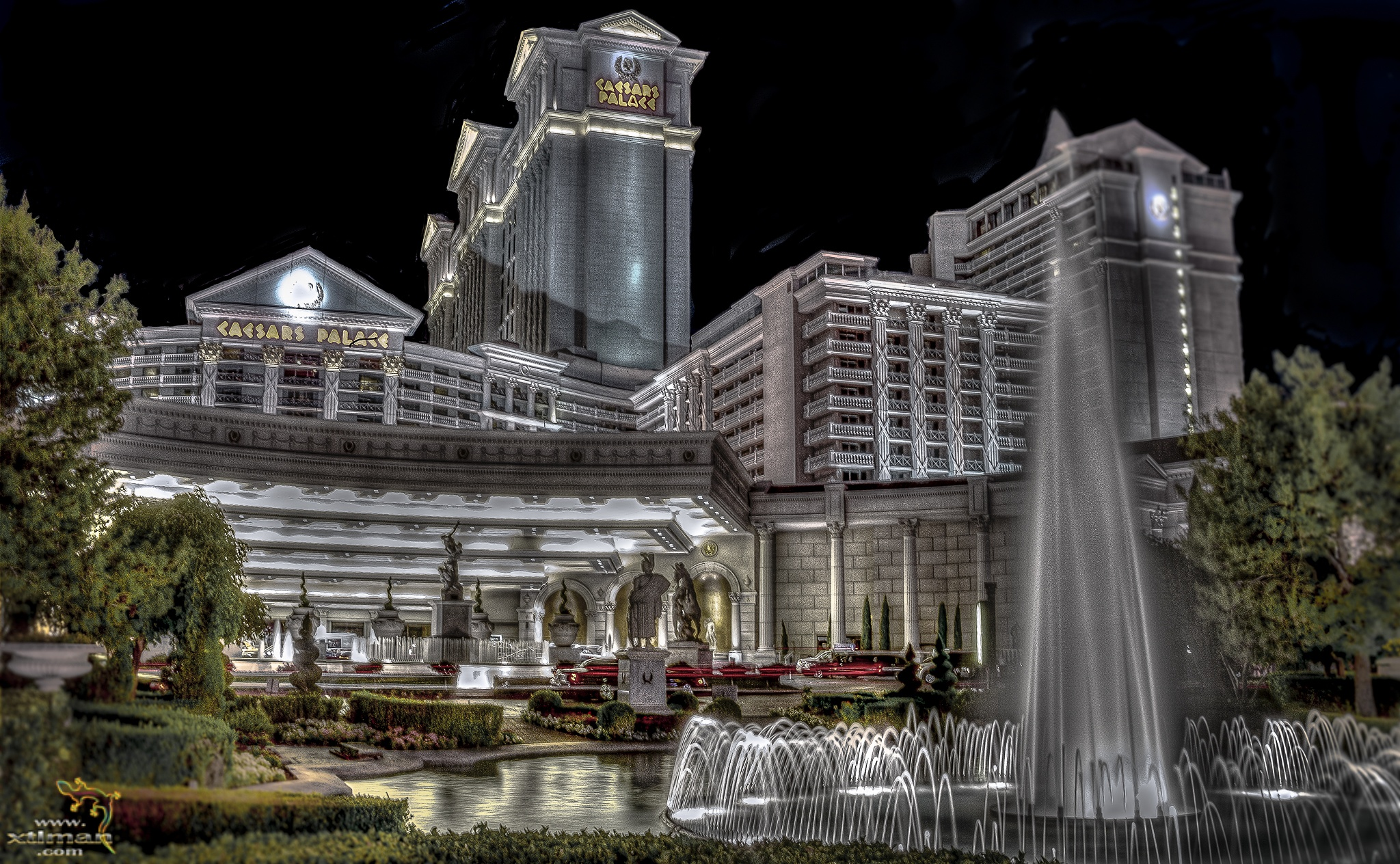 Caesars Palace by Mark Dunton