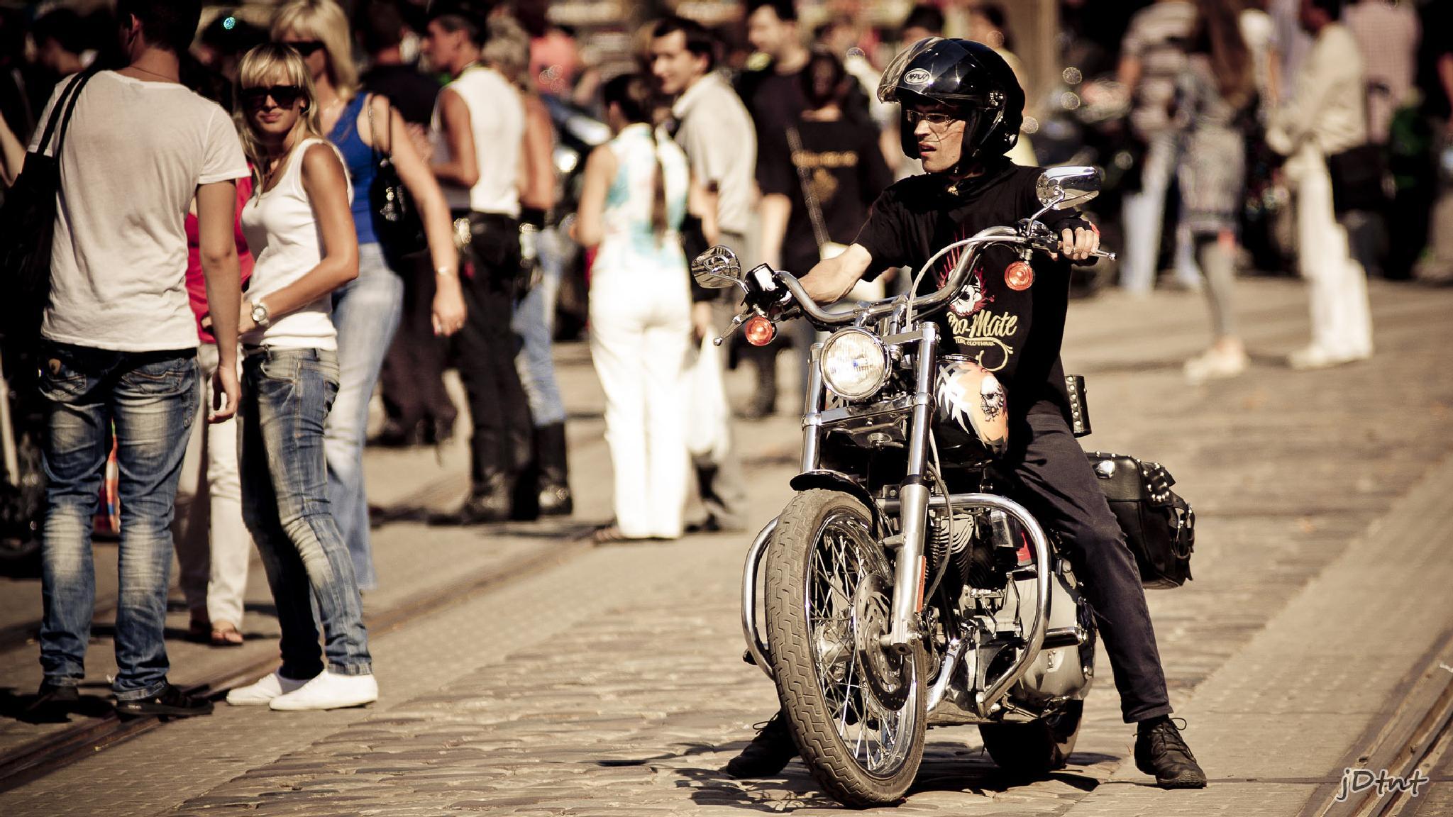 Biker by jDtnt
