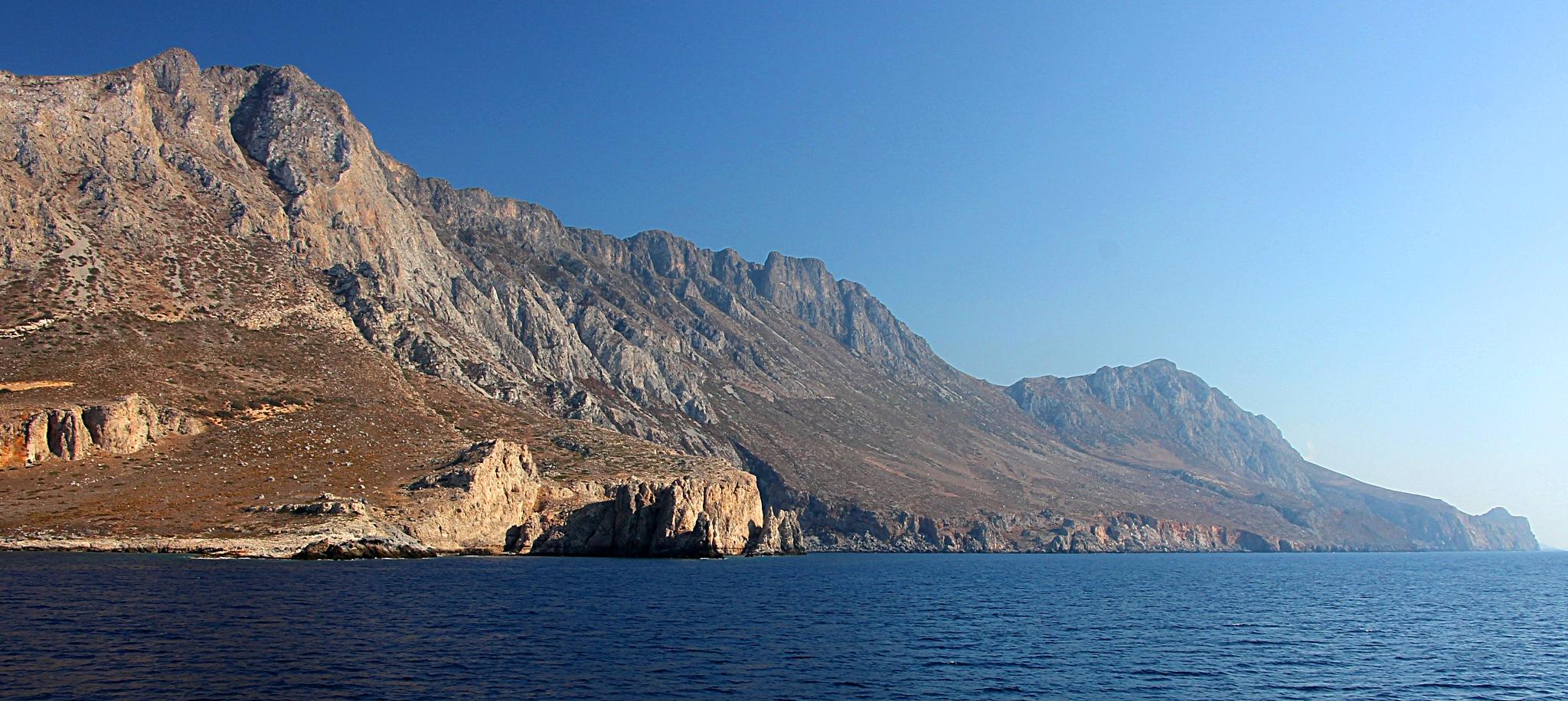 Island Gramvousa, Kreta by Christiaan Waeremoes