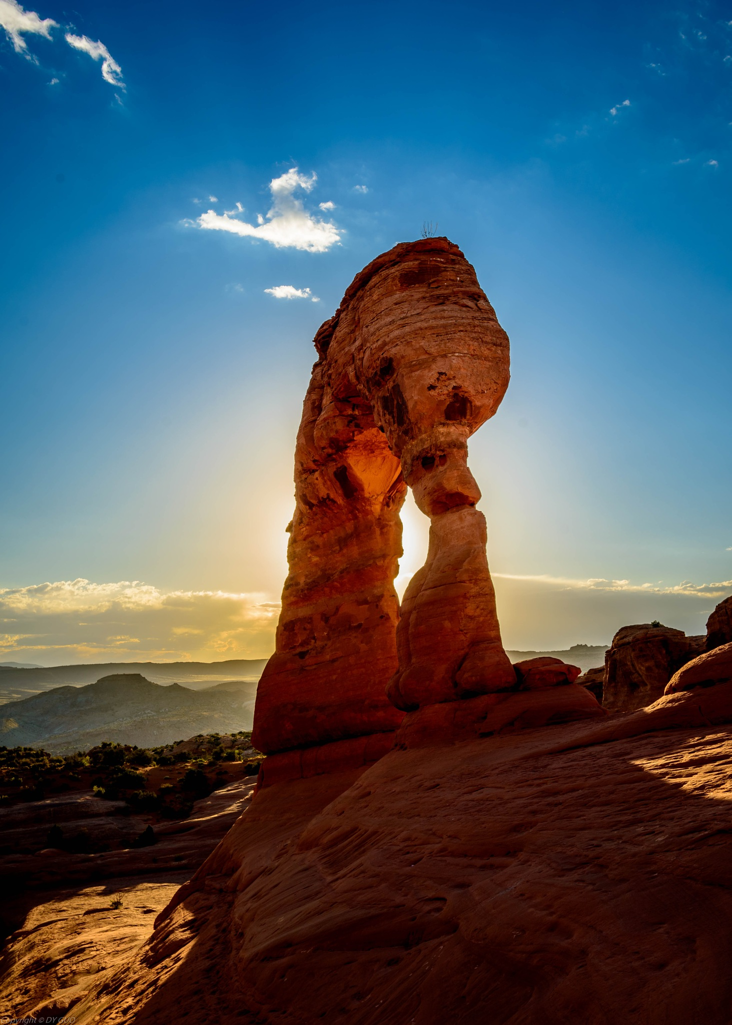 Delicate Arch by David Guo