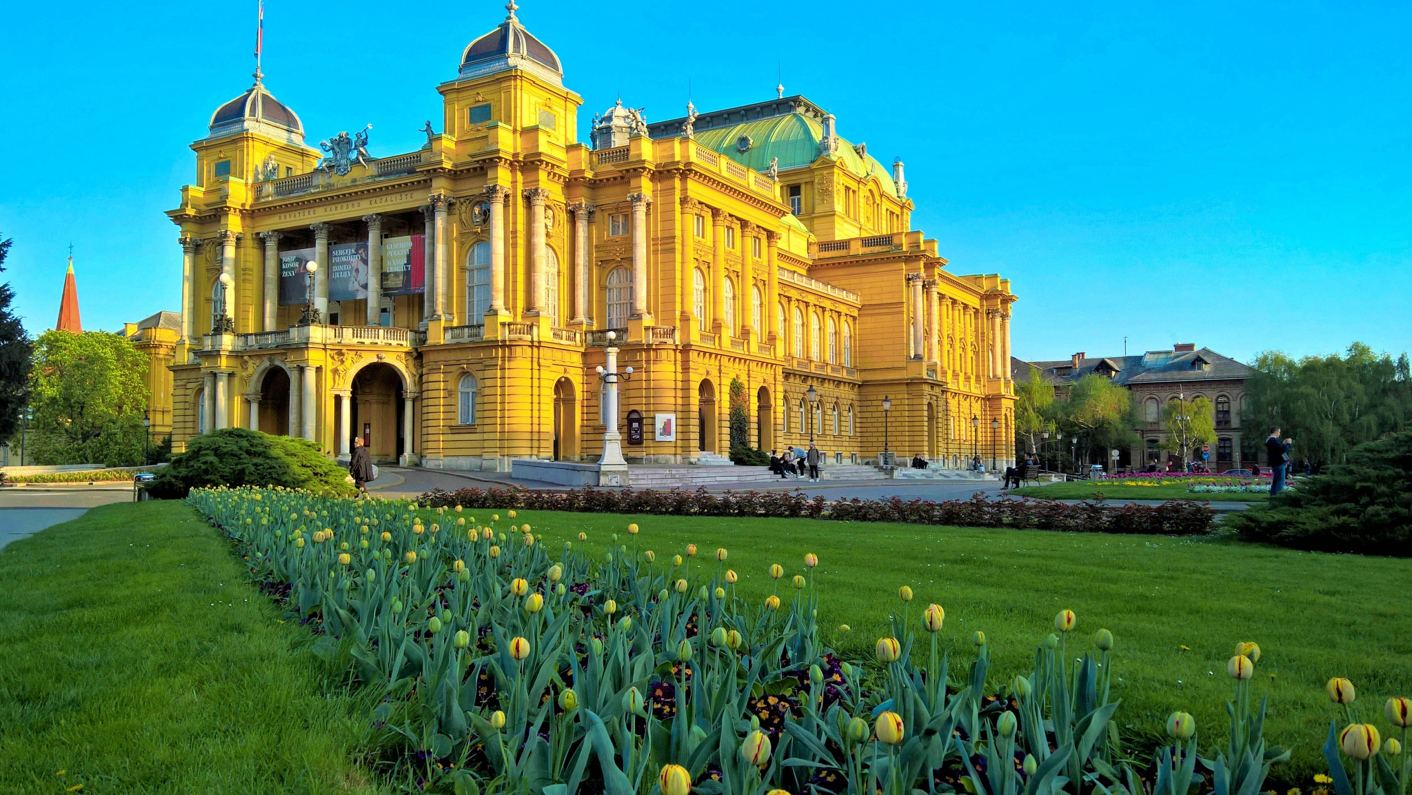 Croatian National Theatre in Zagreb by David Guo
