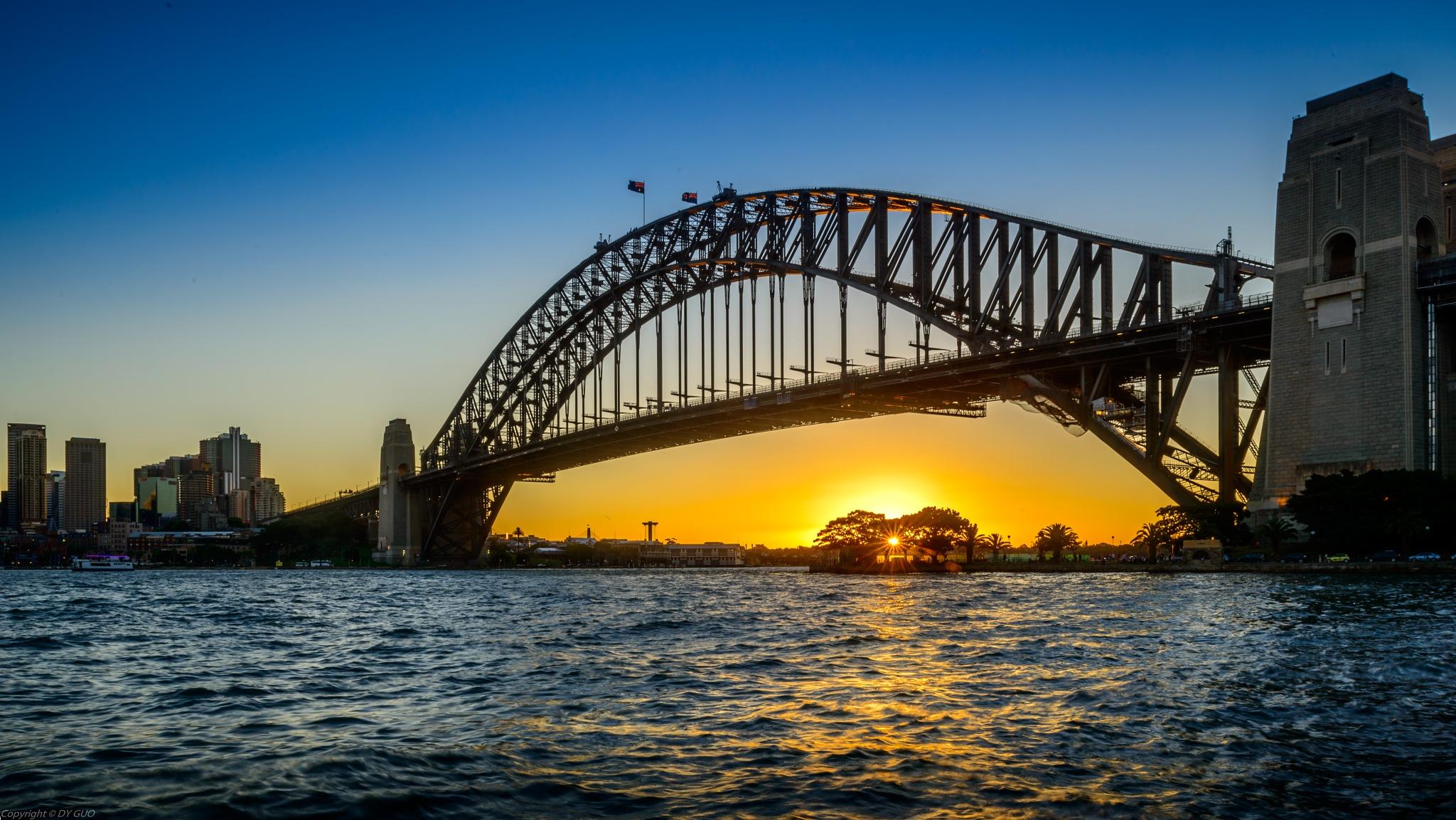 Sydney Harbor Bridge by David Guo