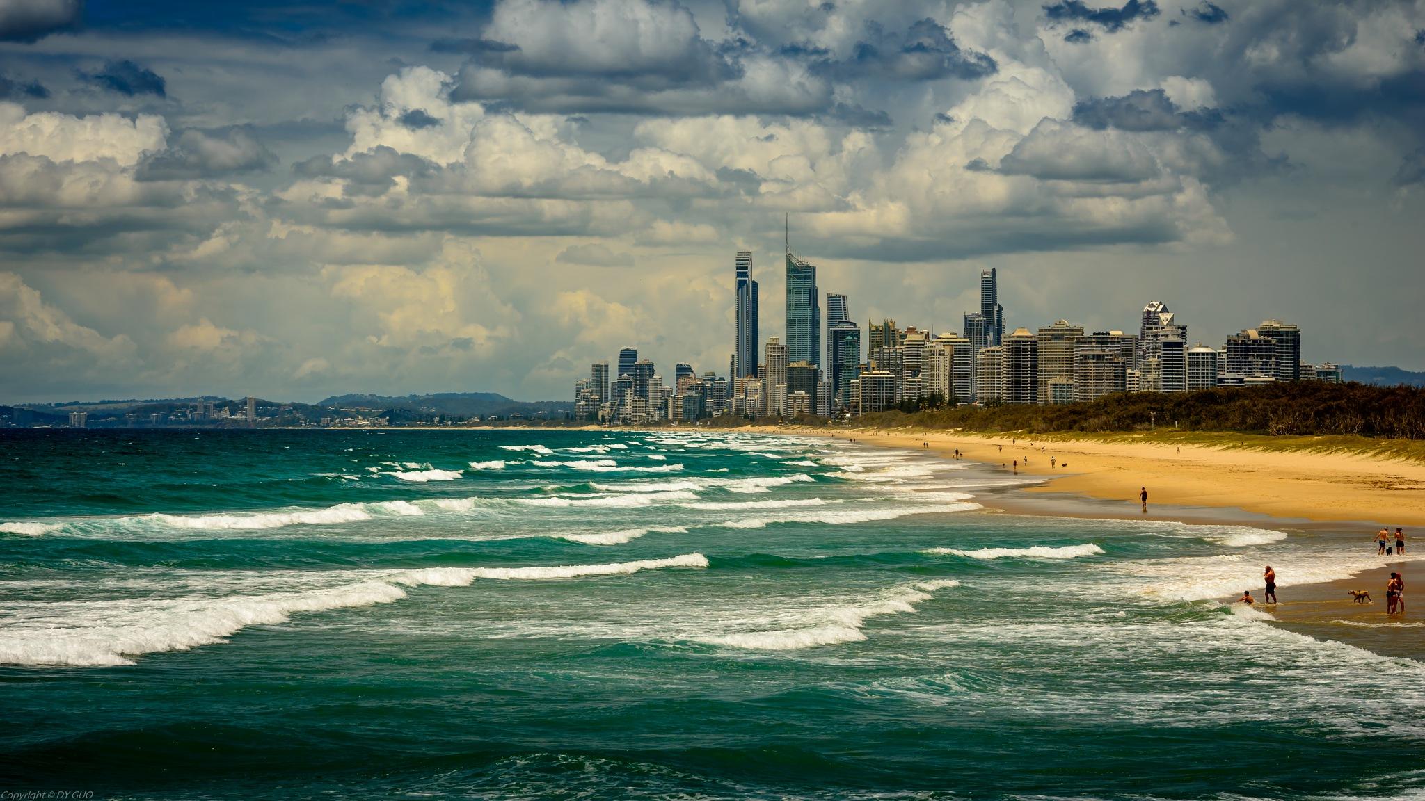 Gold Coast, Australia by David Guo