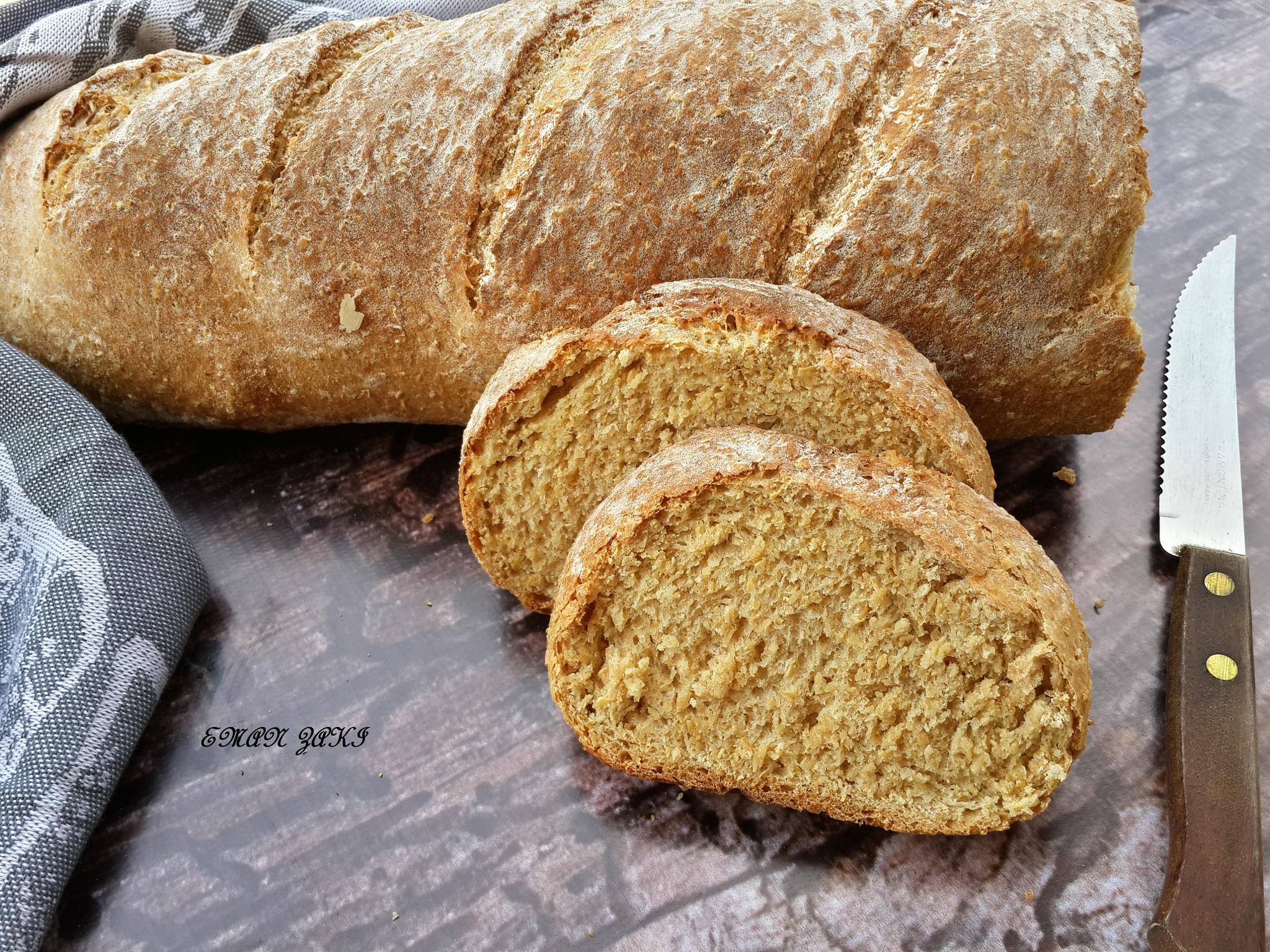 Baguette bread by Meme Zaki