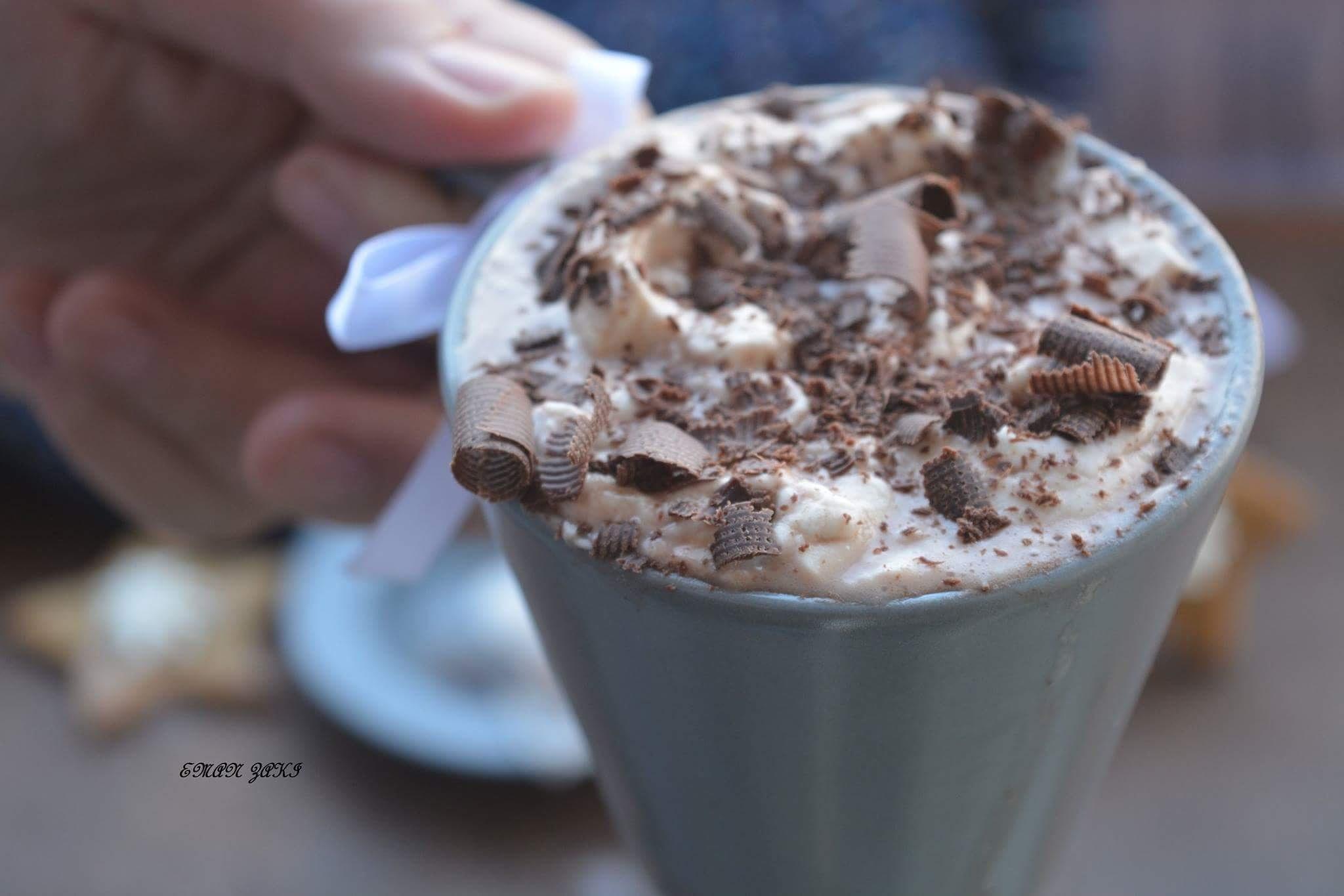 hot chocolate by Meme Zaki