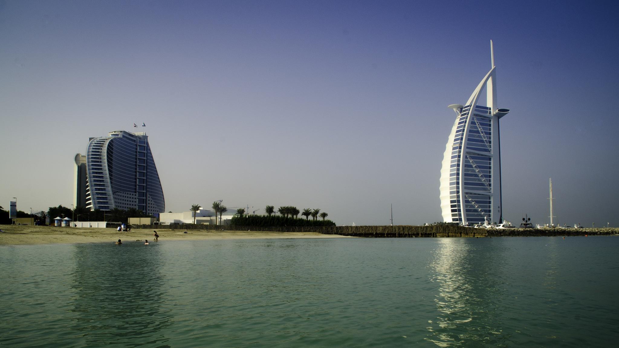 Burj Al Arab & JBH by Alvin A. Ablaneda Photography