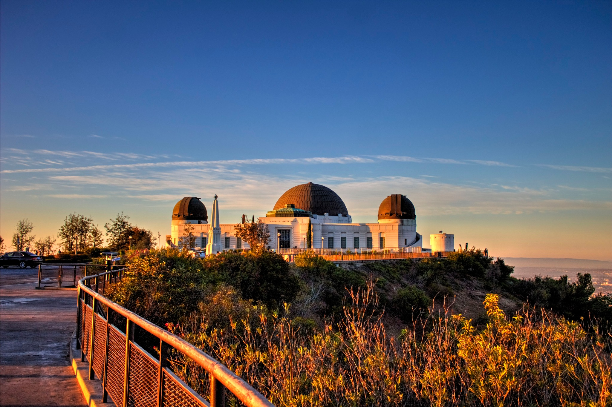Griffith Observatory by Rick Evence