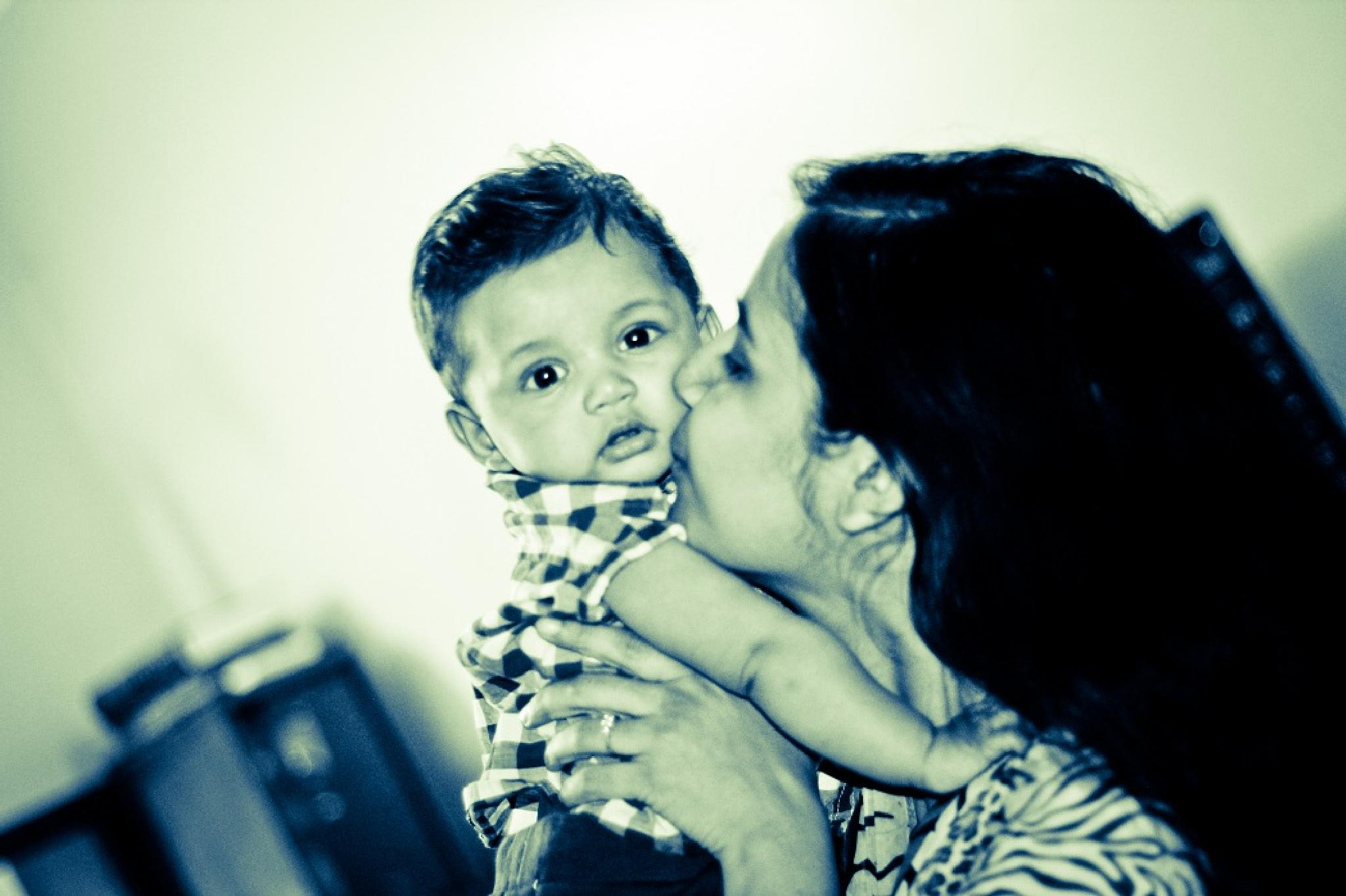 Mother's love by Toha_Rahman