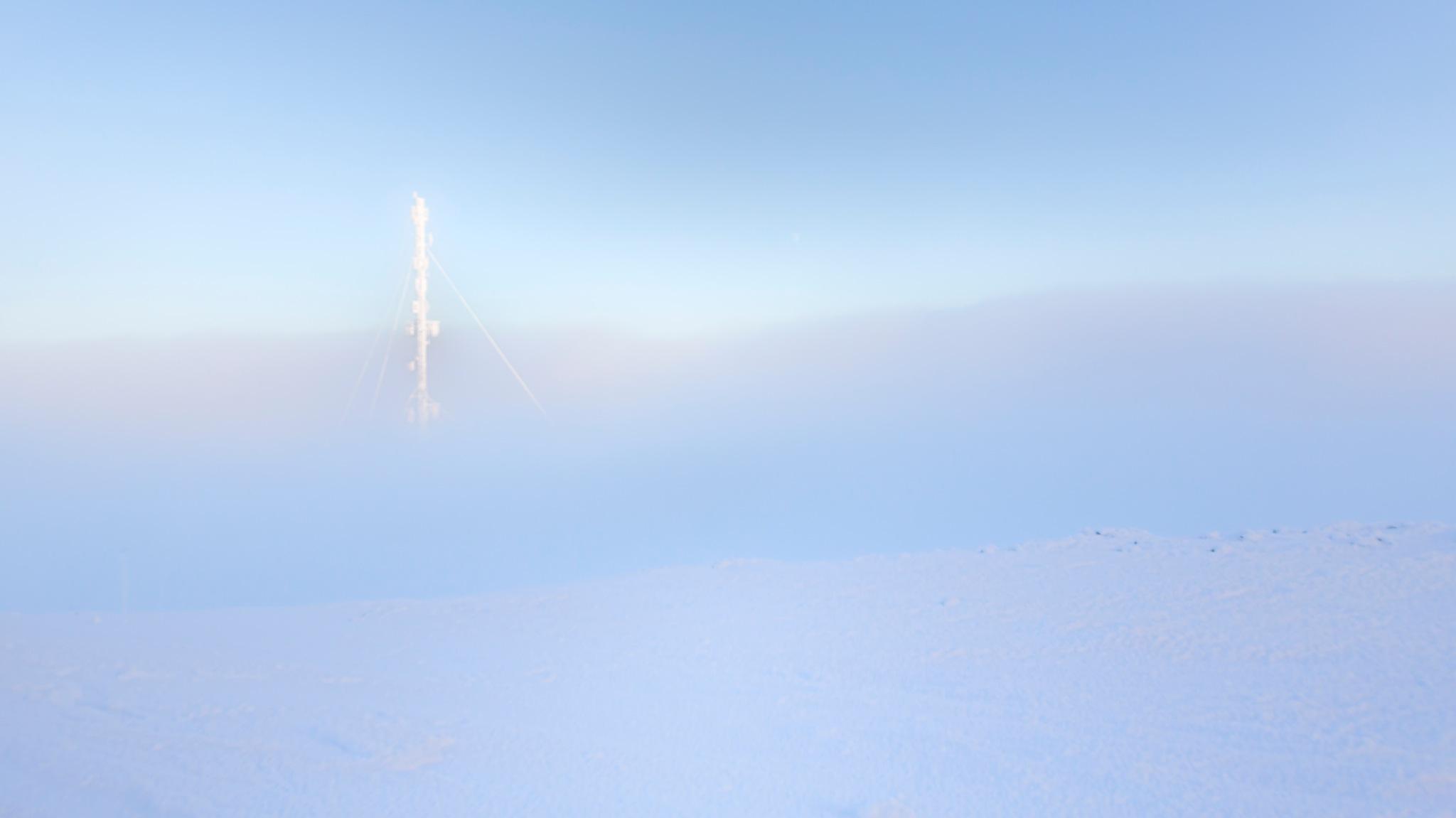 Between arctic clouds by FerdinandMul