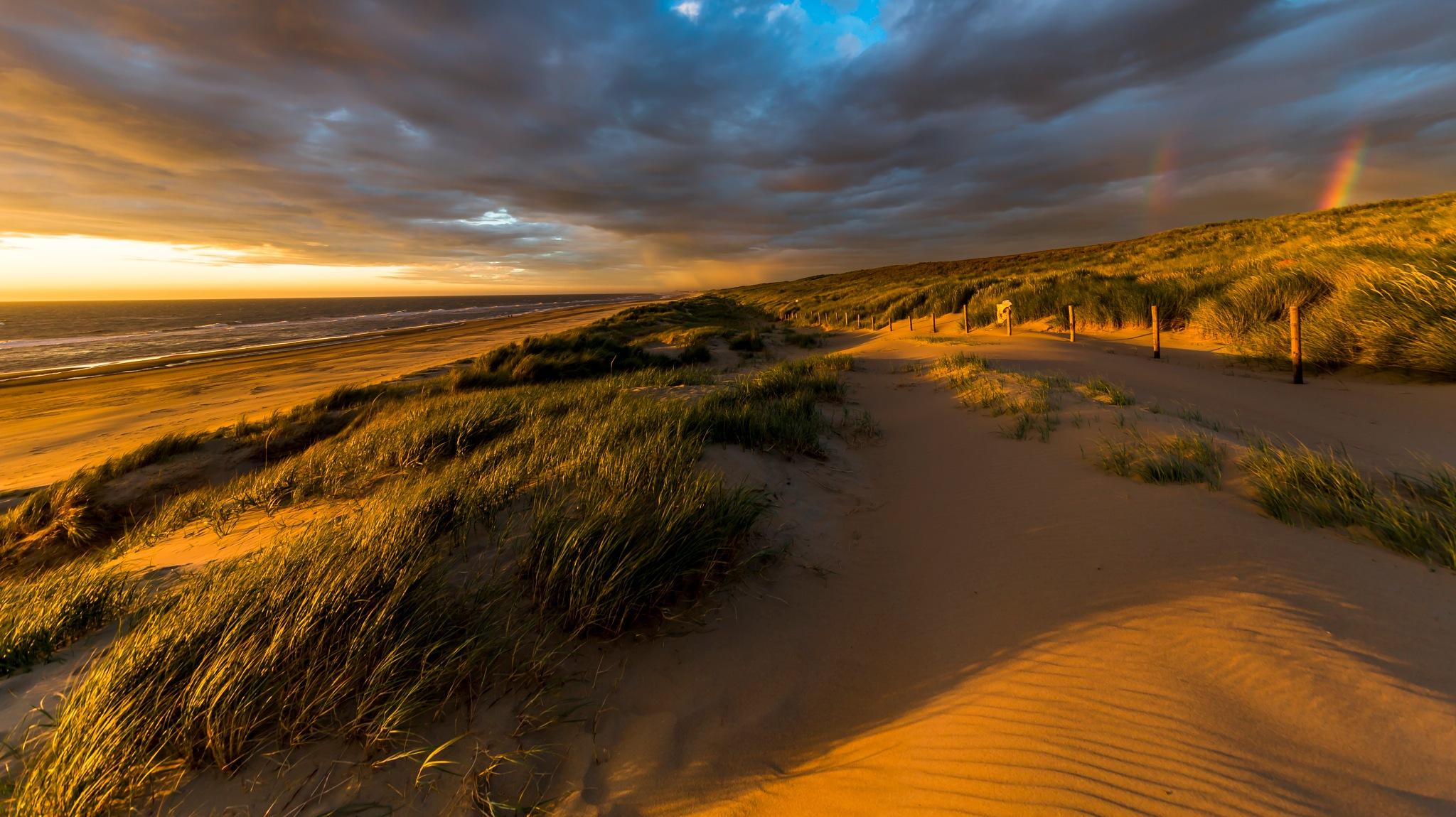 A summer evening at the beach by FerdinandMul