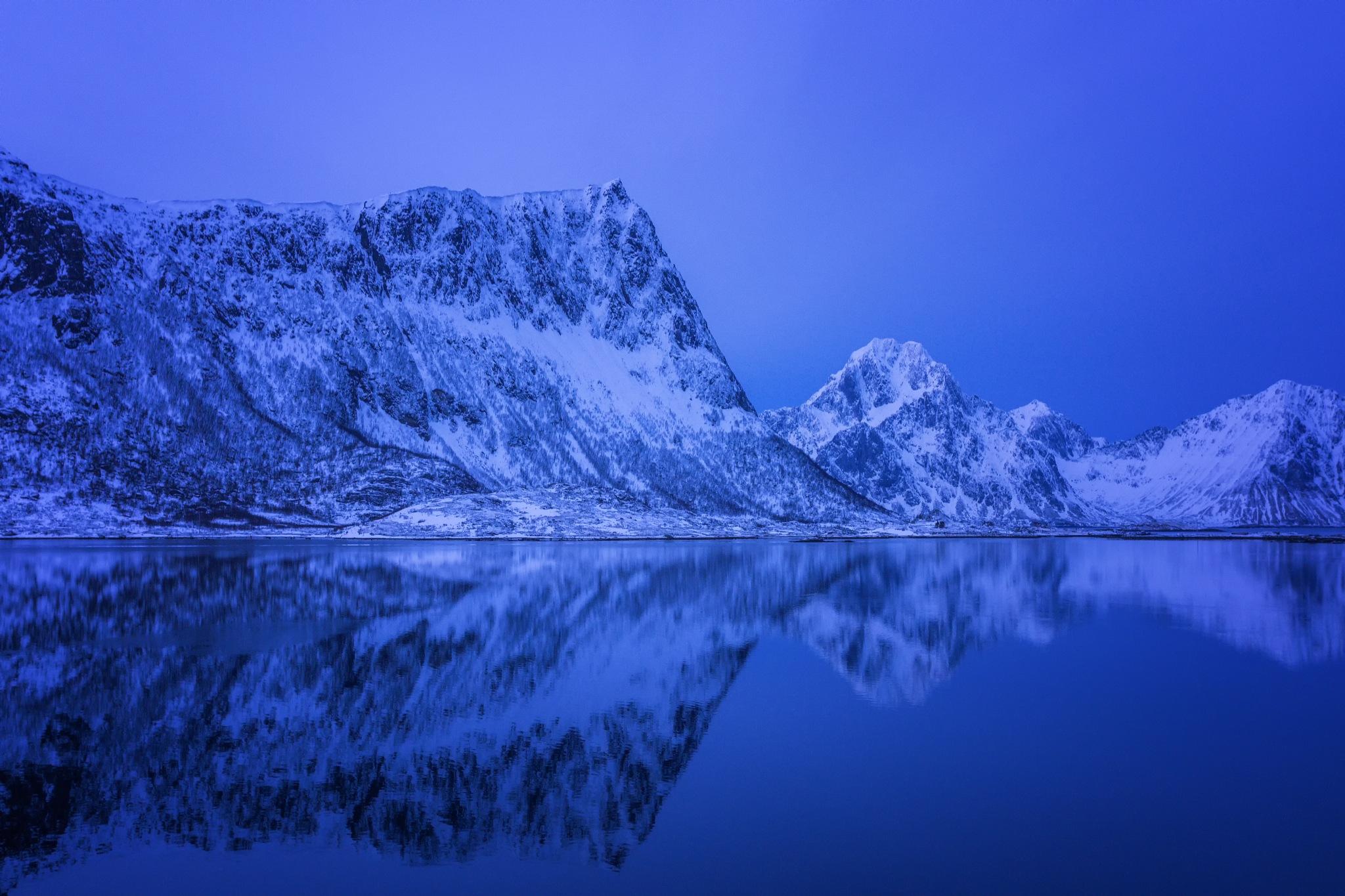 Blue Hour by Rickard A. Eriksson