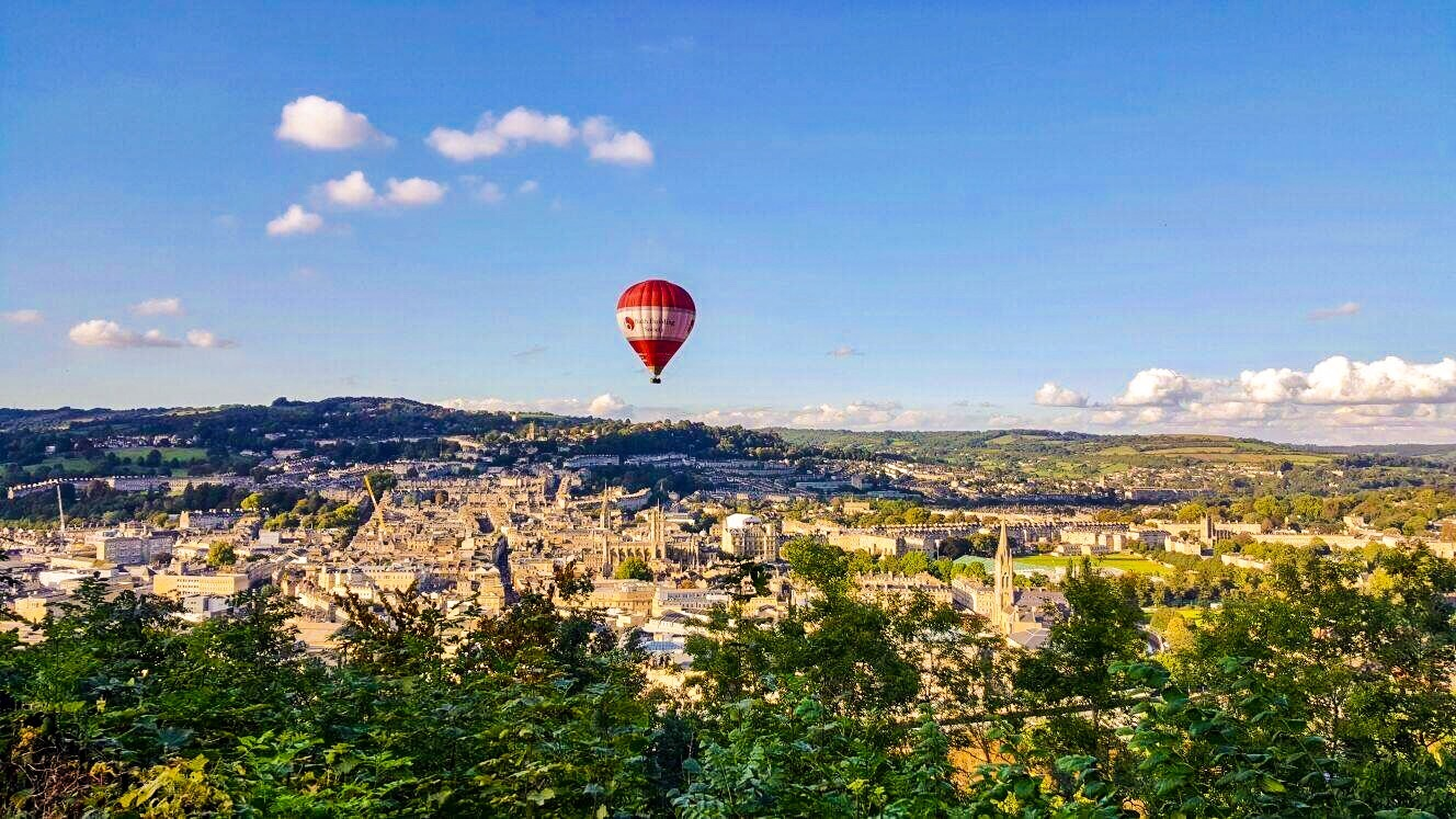 high above Bath by Terry Reynolds