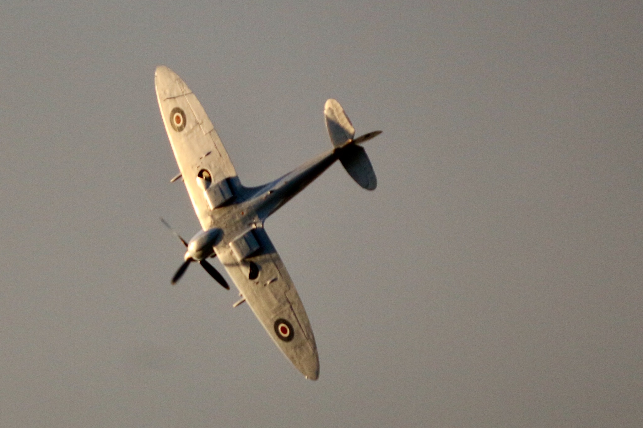 Tonights Spitfire Flypast by Terry Reynolds