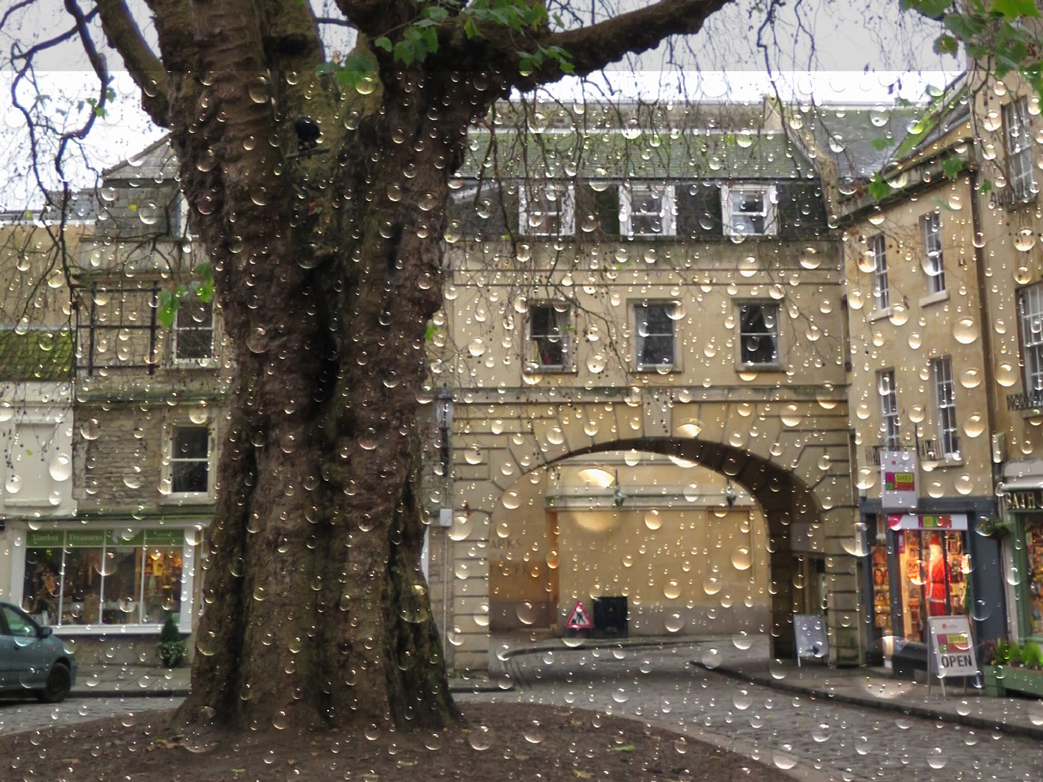 A square in bath  by Terry Reynolds