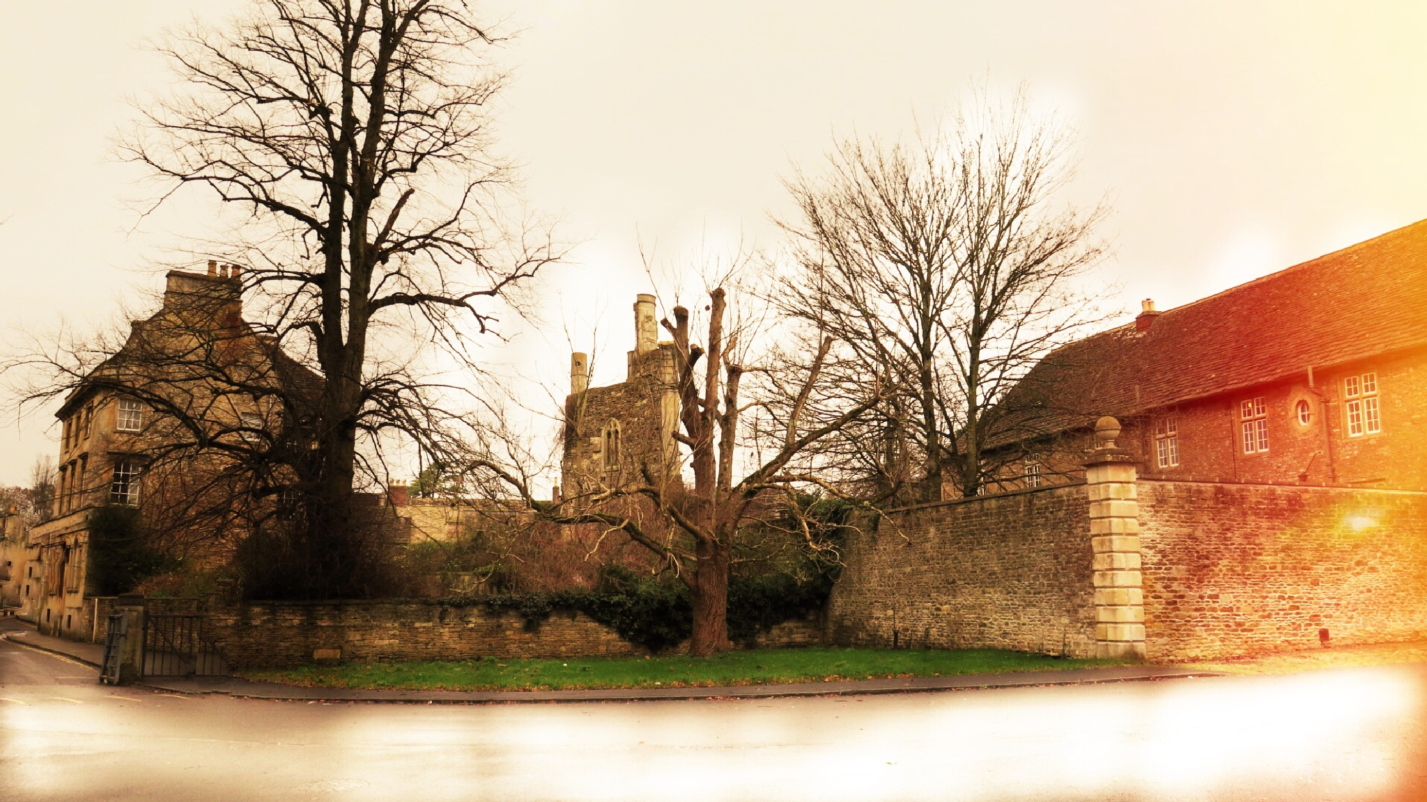 A folly at Corsham Court  by Terry Reynolds
