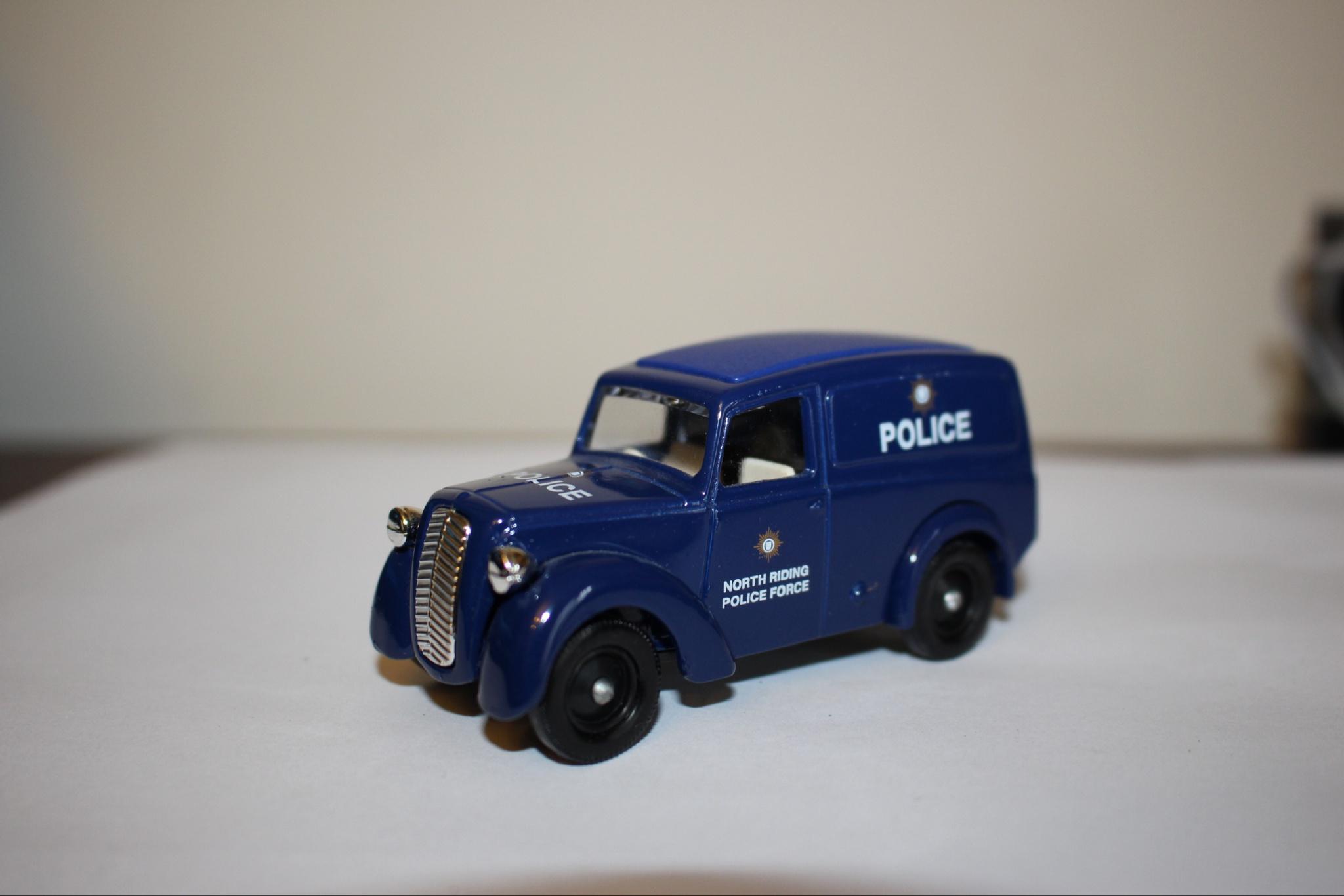 Police van by Terry Reynolds