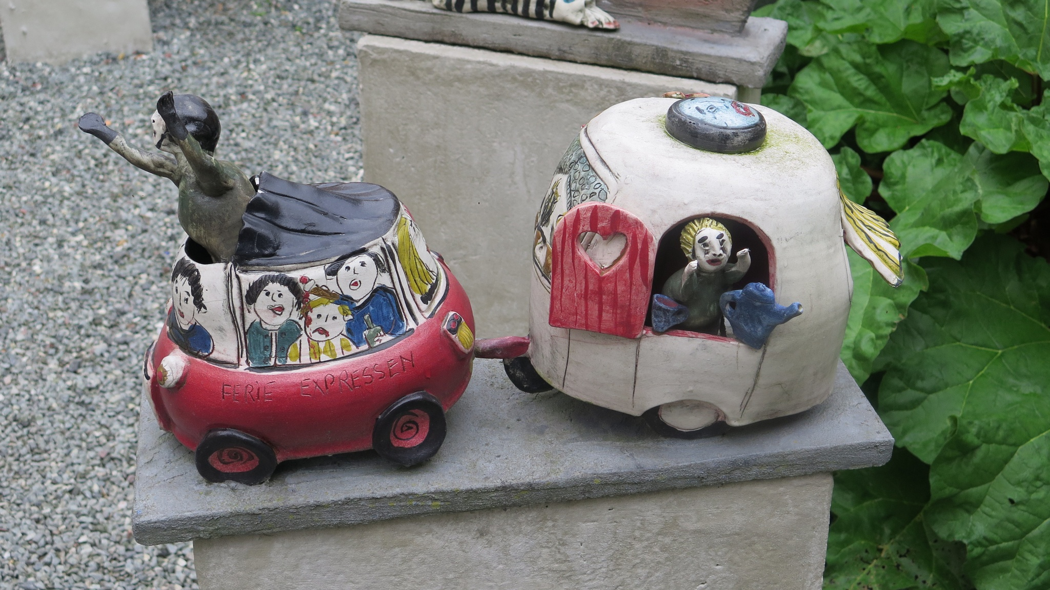 New way of caravanning  by Terry Reynolds