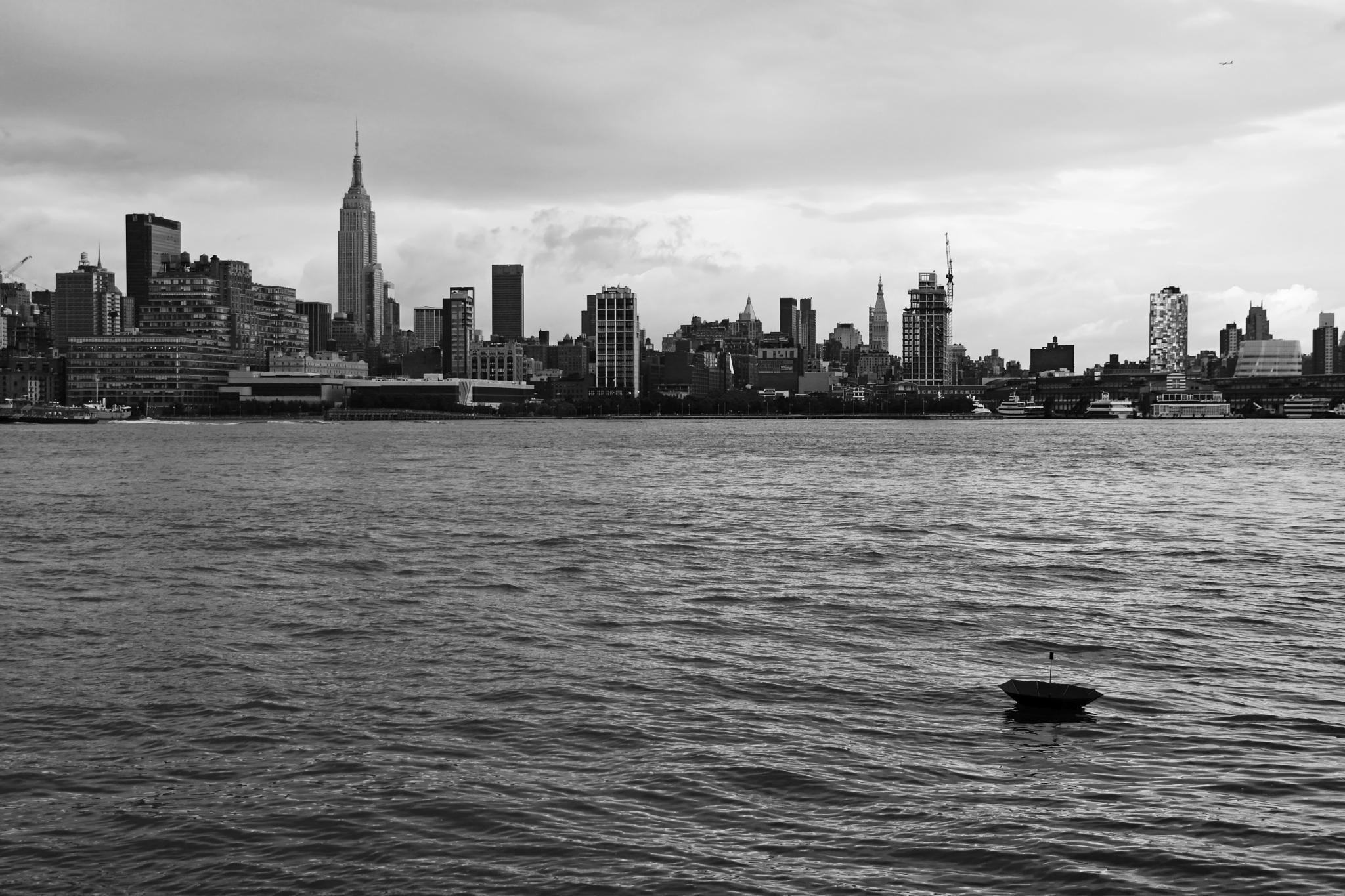 New York New York - Lost Umbrella by visbimmer79