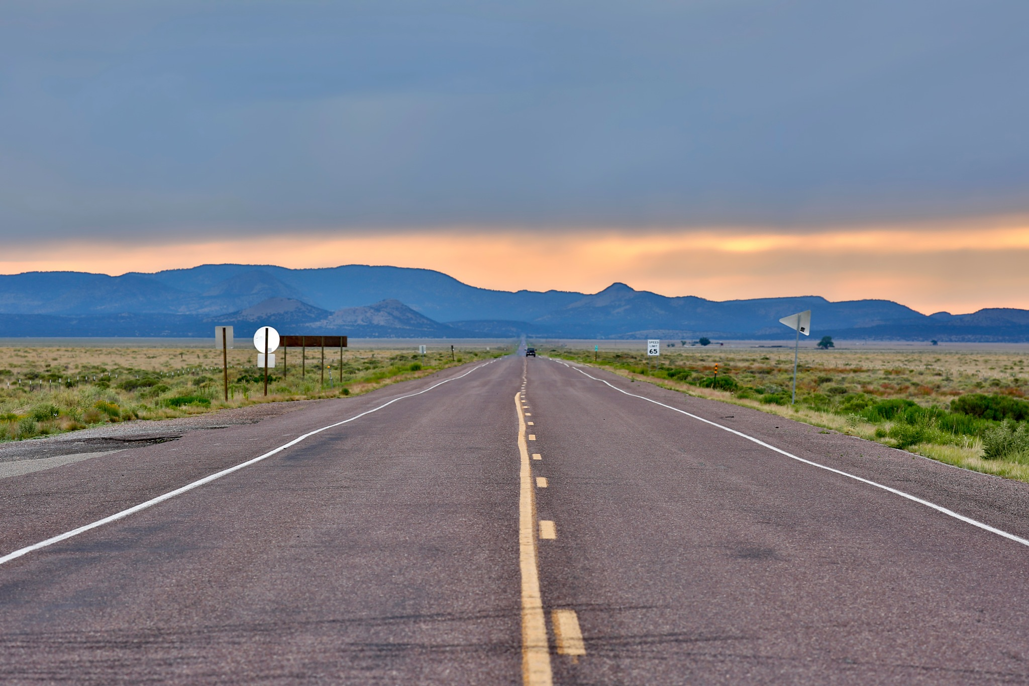 Sunset Road by visbimmer79
