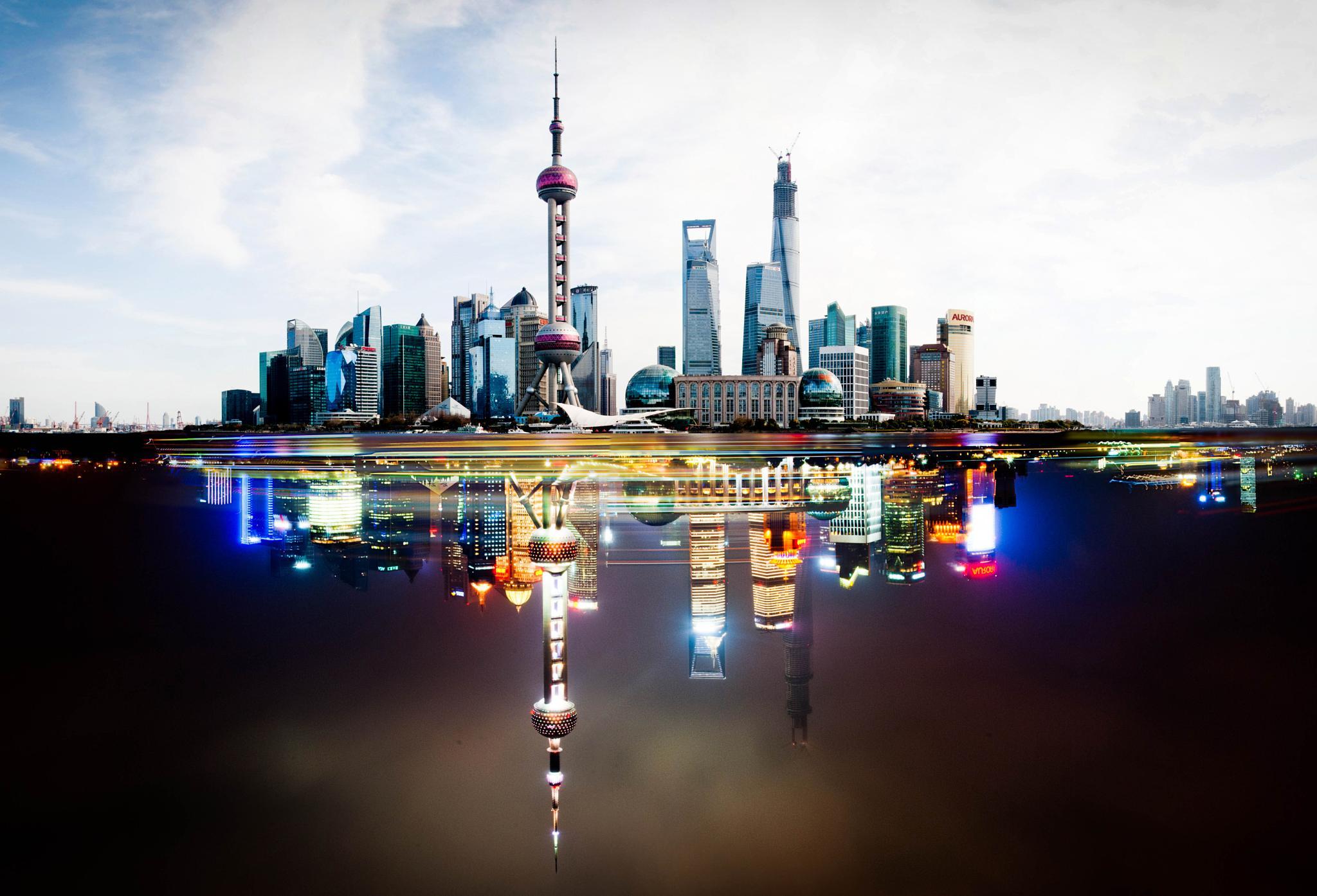 Shanghai Day&Night by Ediz Güzel