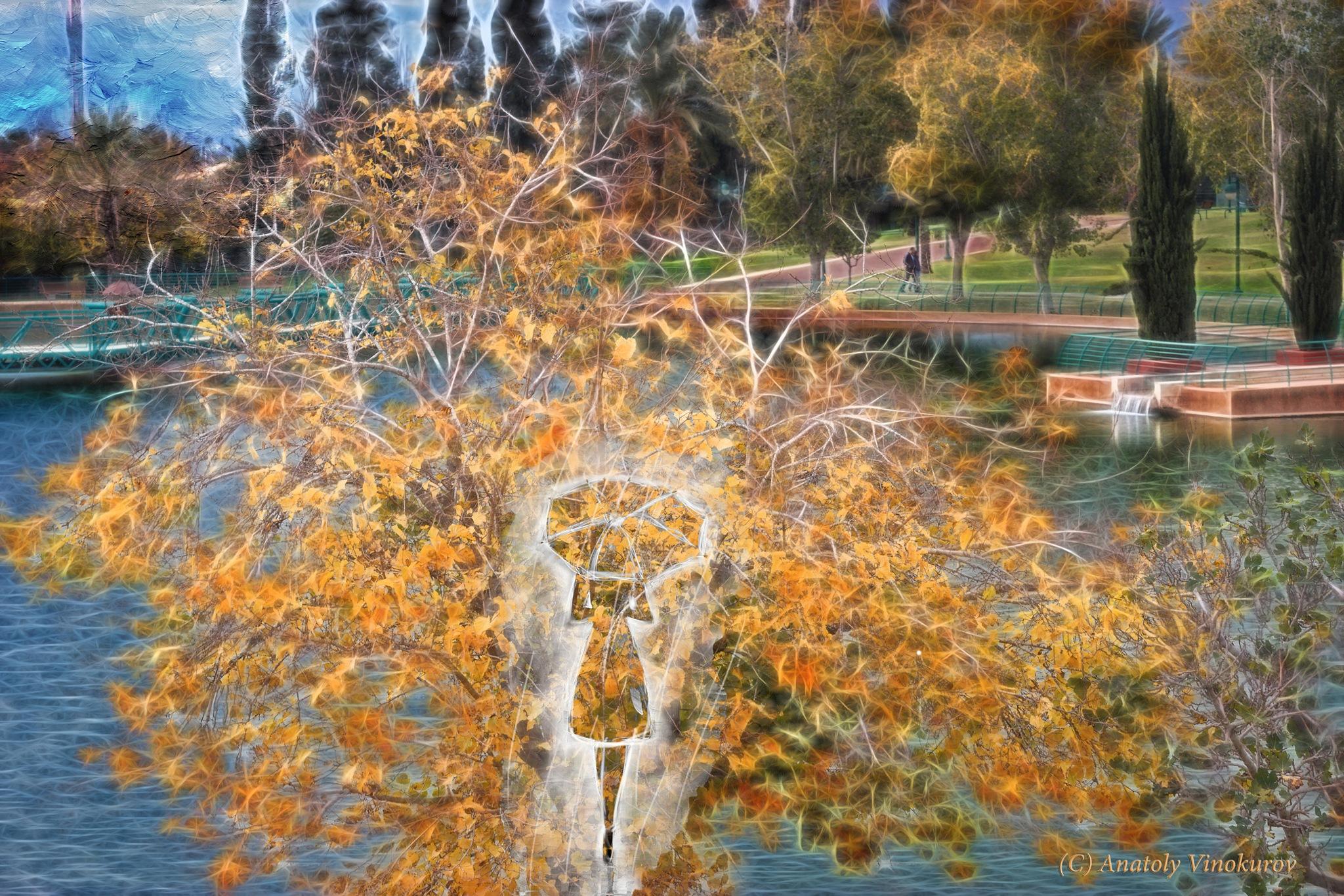 Autumn has come by Anatoly Vinokurov
