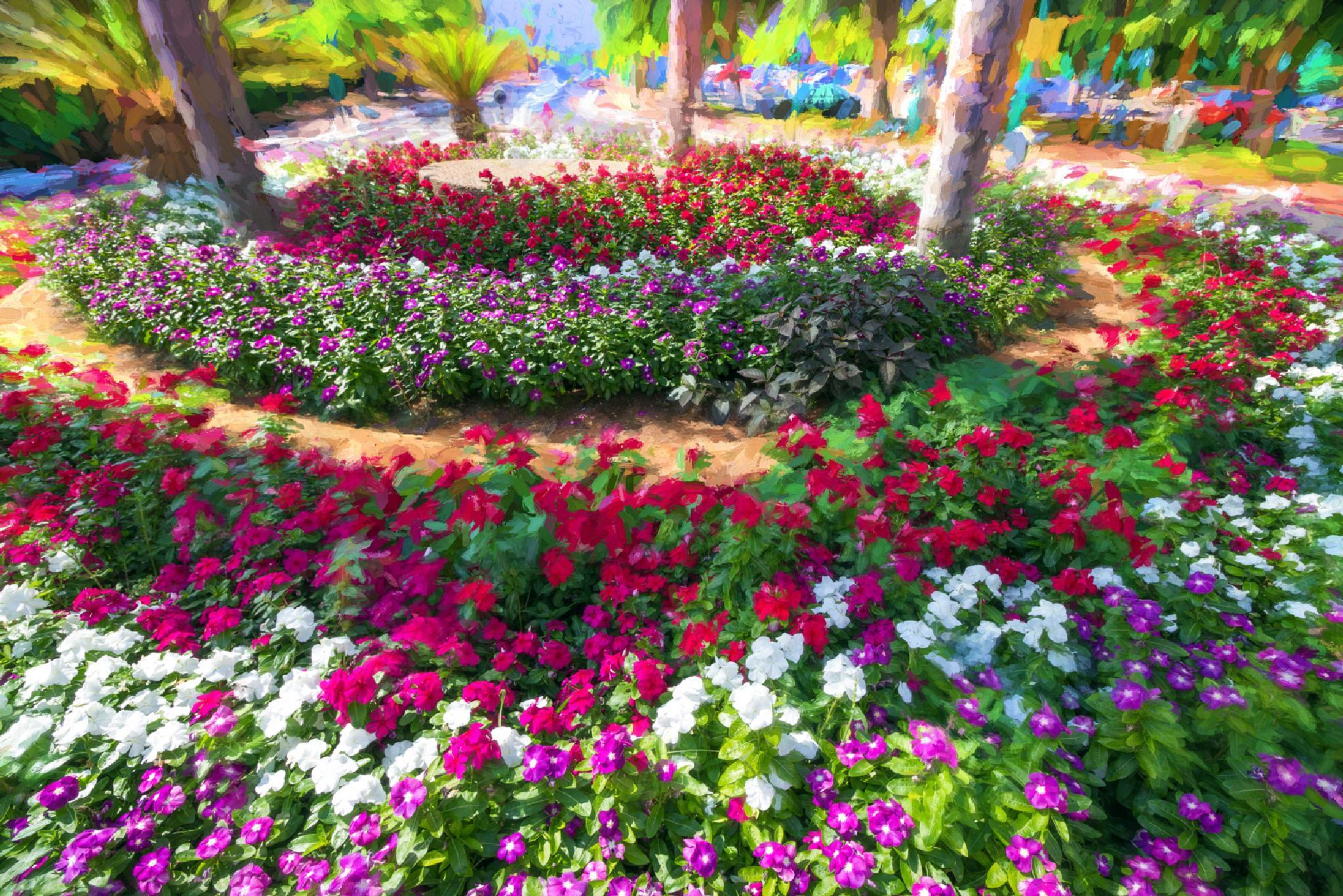 Flowers, flowers, ... by Anatoly Vinokurov