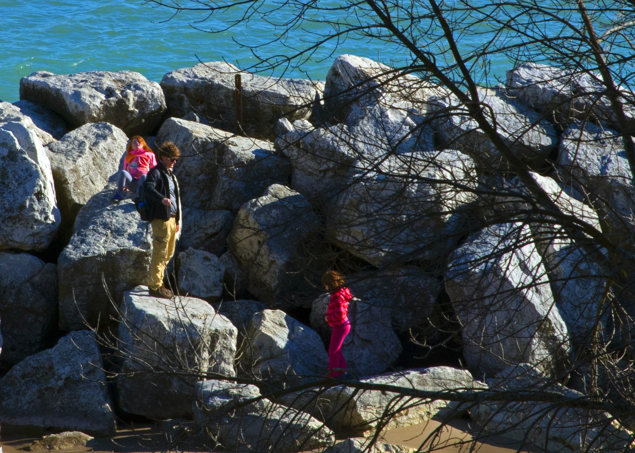 Children at the Lake 1101 by ThomasJerger
