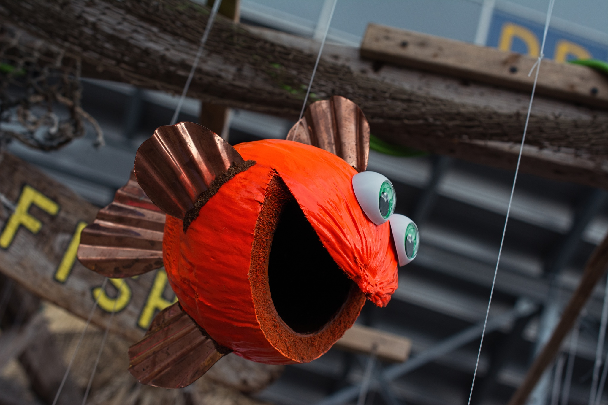 The Amazing Flying Coconut Fish by ThomasJerger