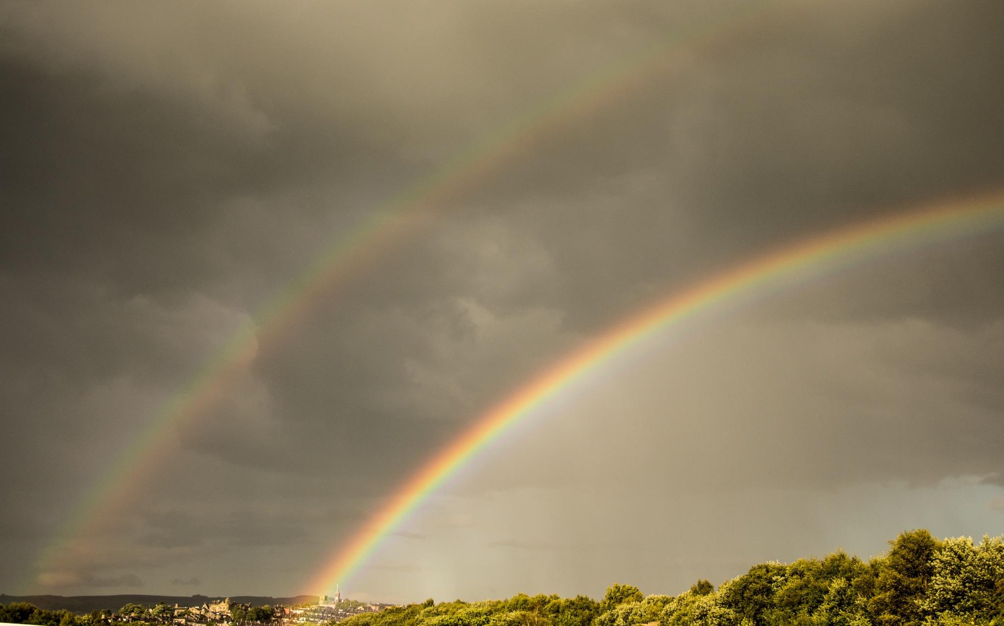 Double Rainbow by Steve Bradley