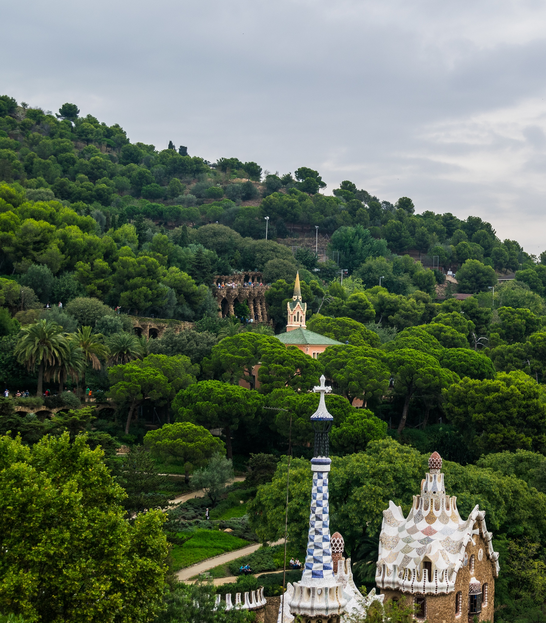 Park Guell from another perspective by Ilia Lotosh