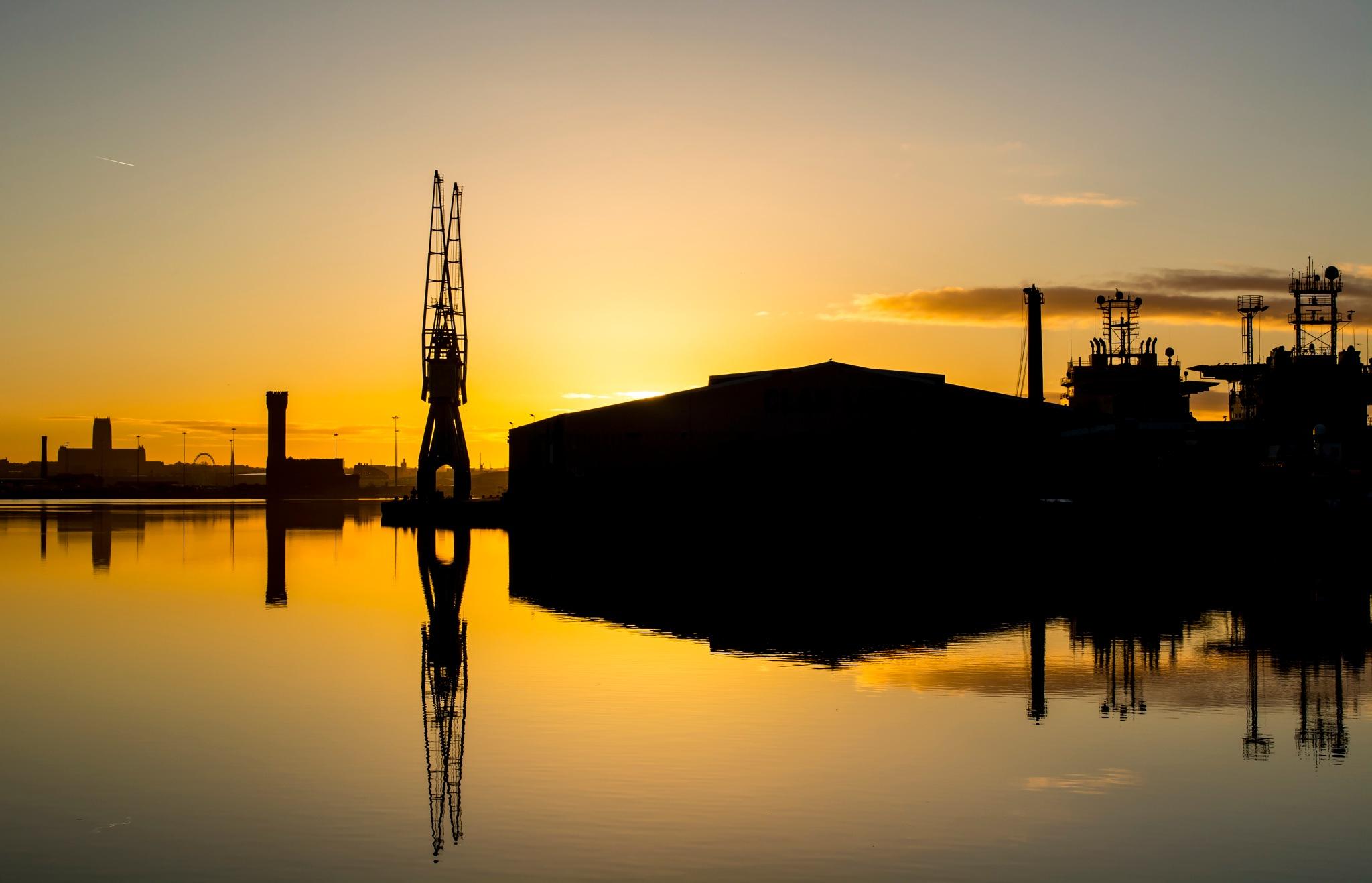 Docklands Sunrise by LandscapesUlike