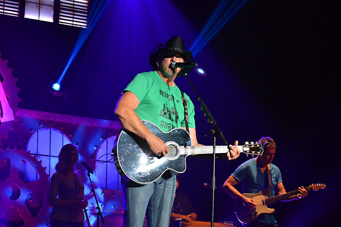 Trace Adkins 3 by Dave Sesher