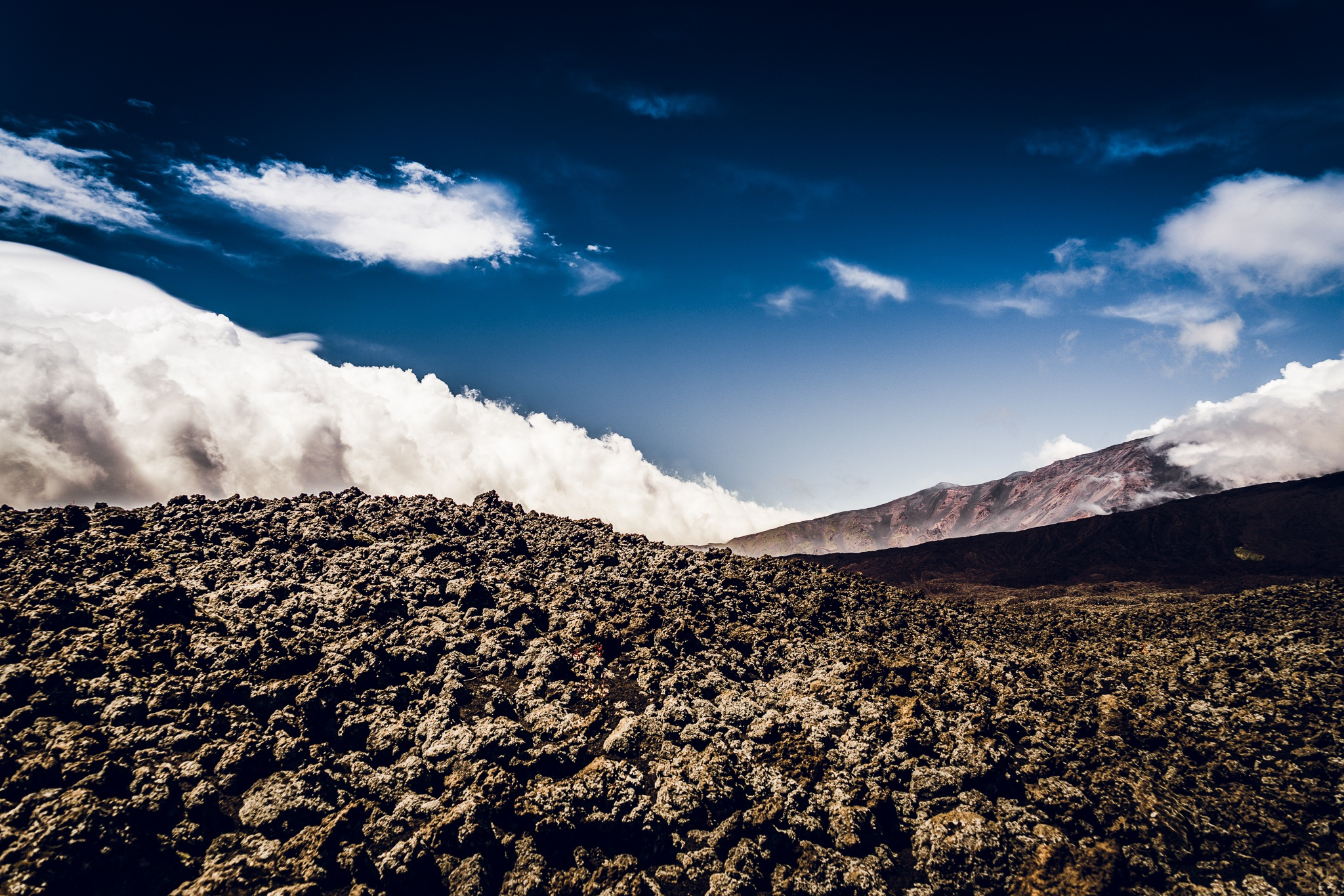 Mount Etna by Andreas Mariotti