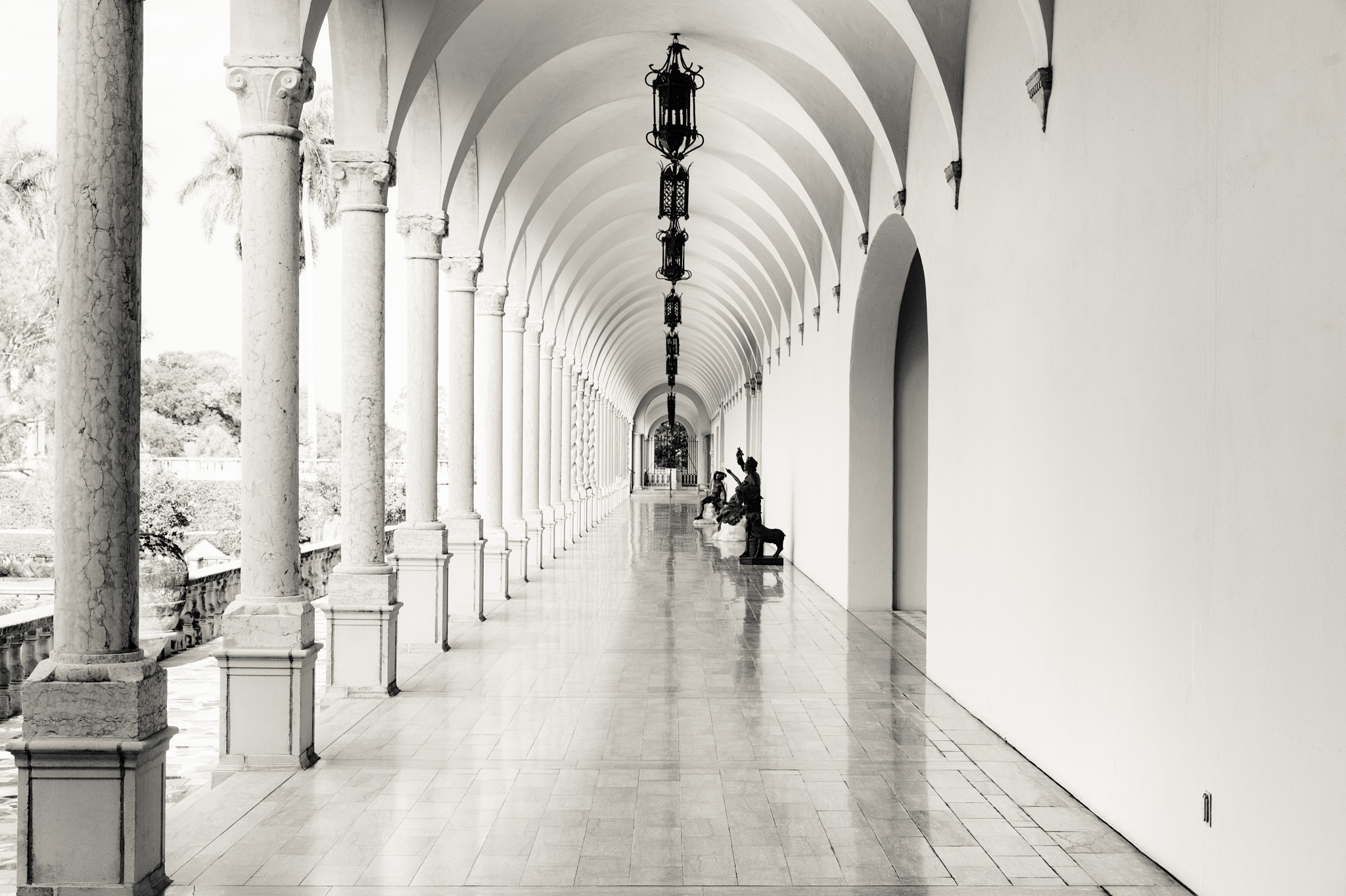 Hallway at the Ringling by Jens Unger