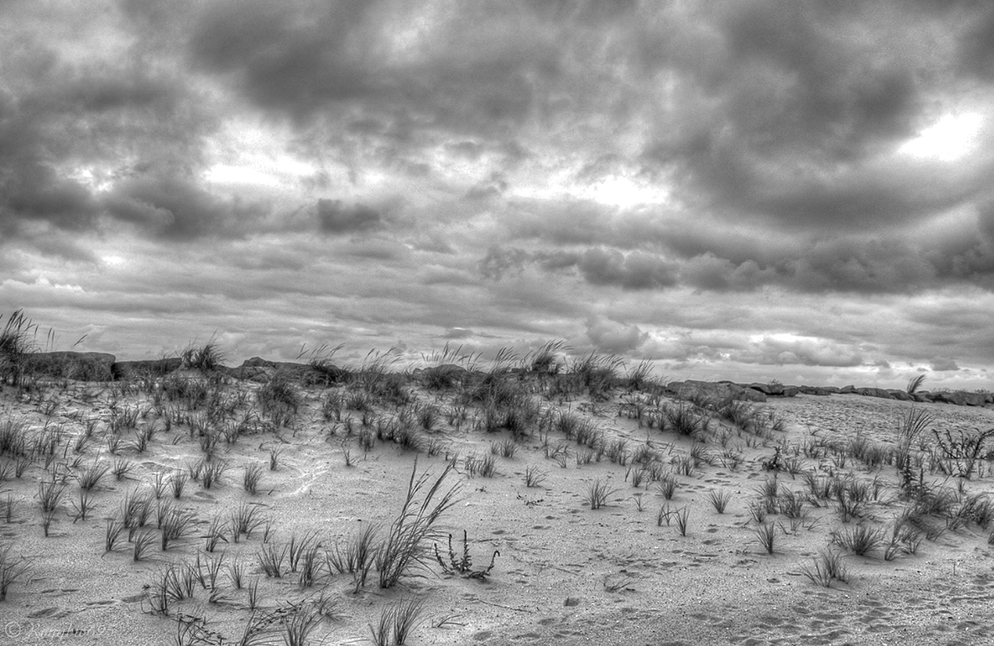 Dunes & clouds by Roygbiv695