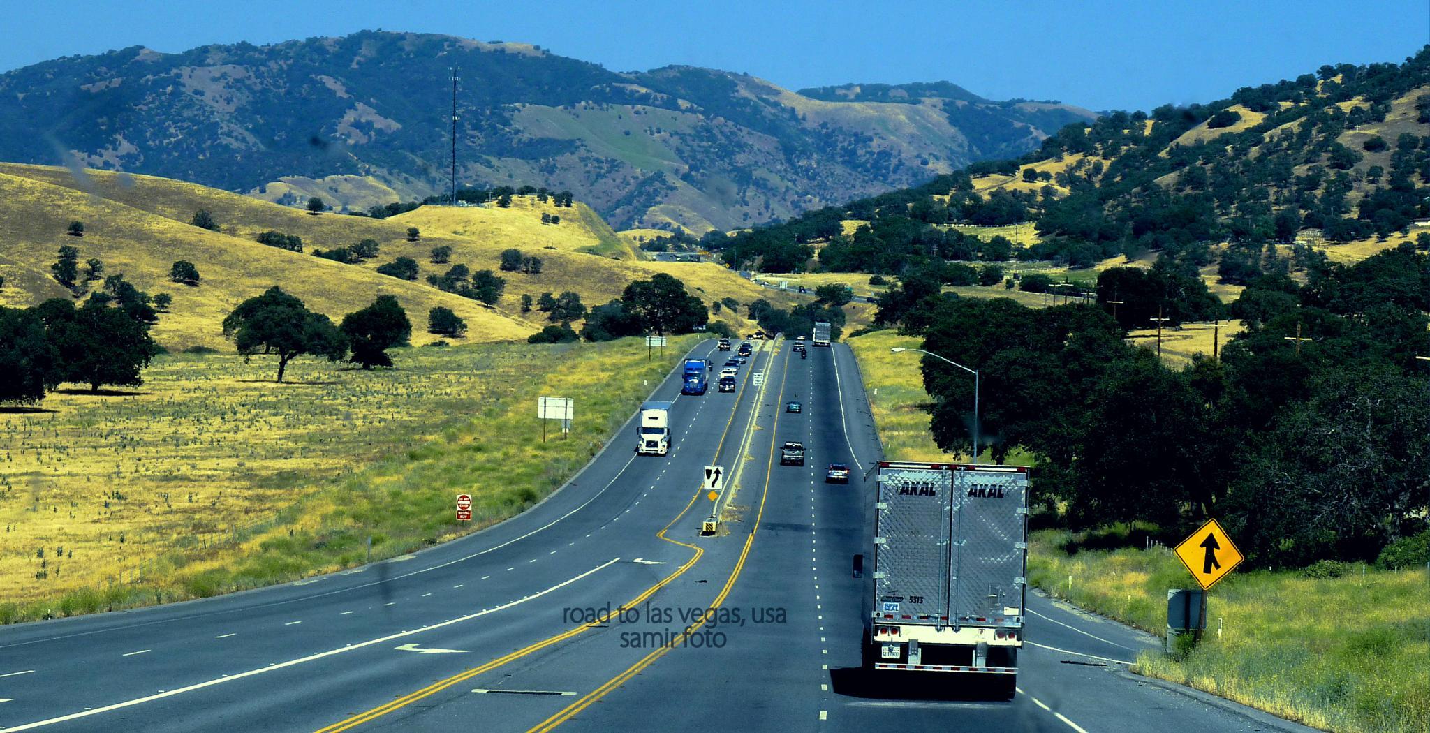 road to las vegas  by samirsarkar