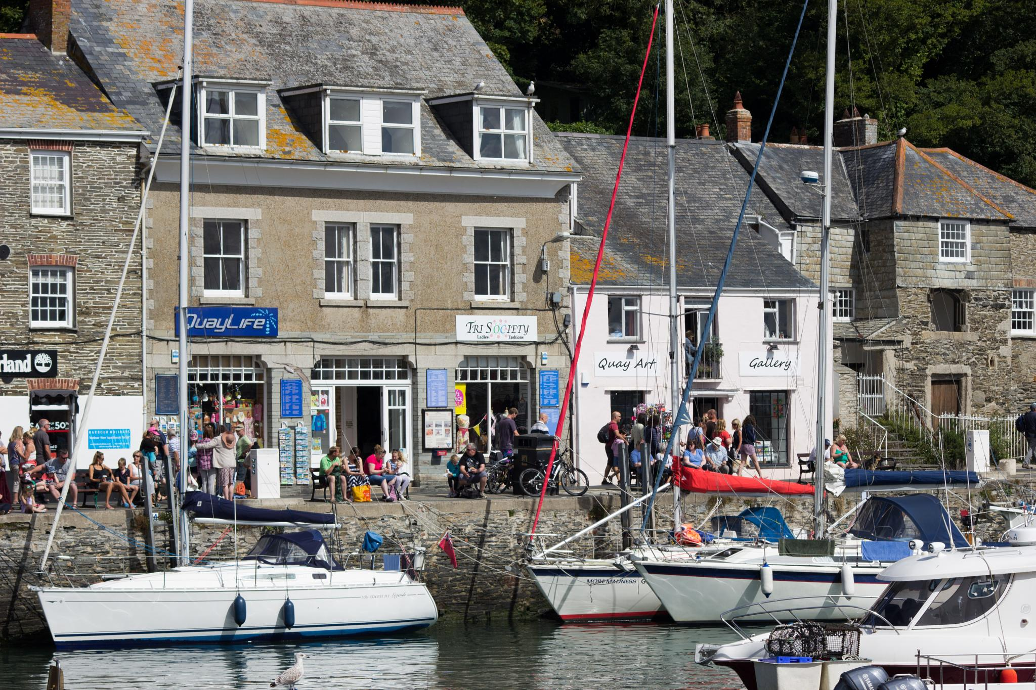 Padstow Harbour by Julie Bryan
