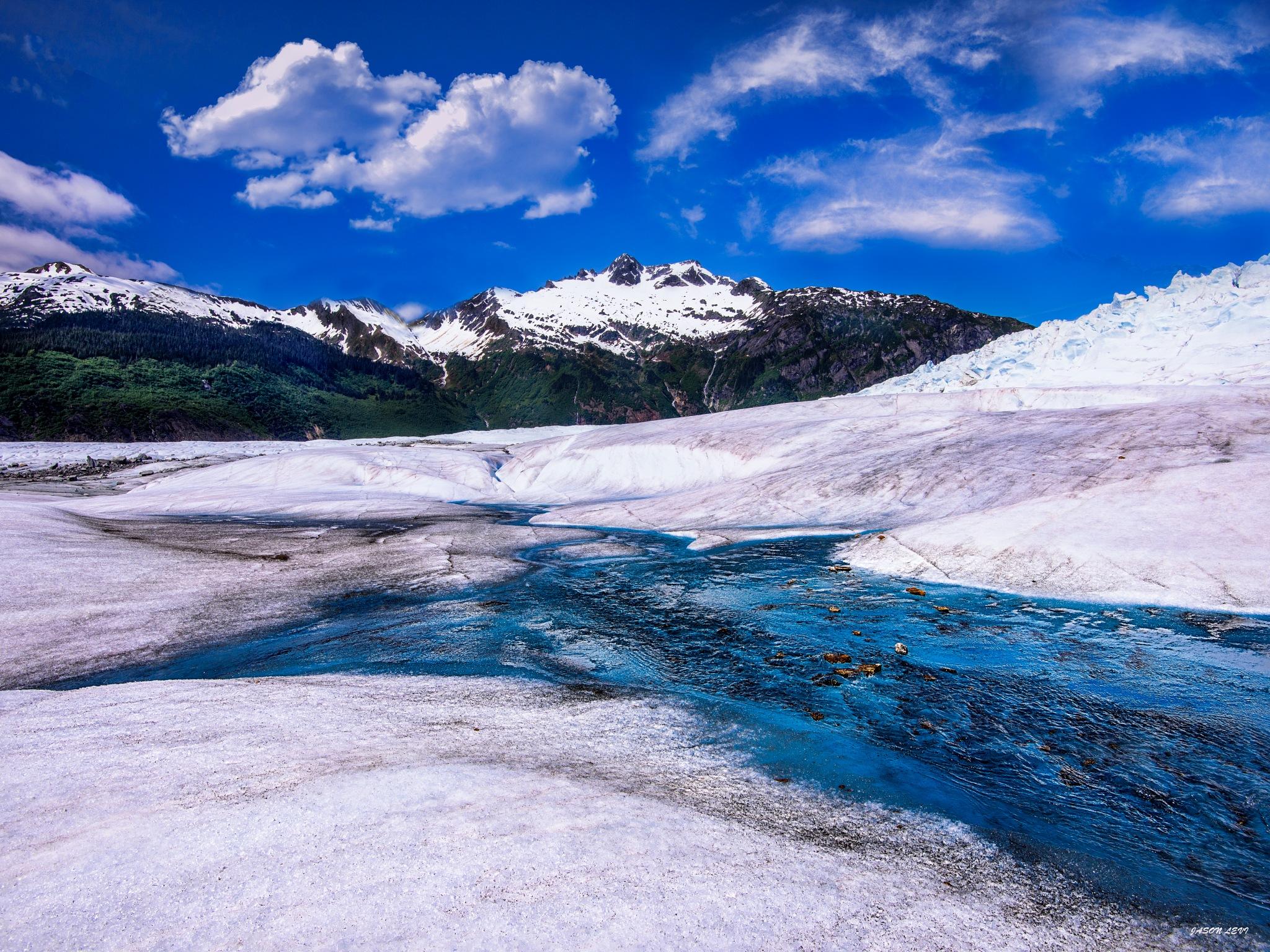 Alaska's Mendenhall Glacier by Jason Levi