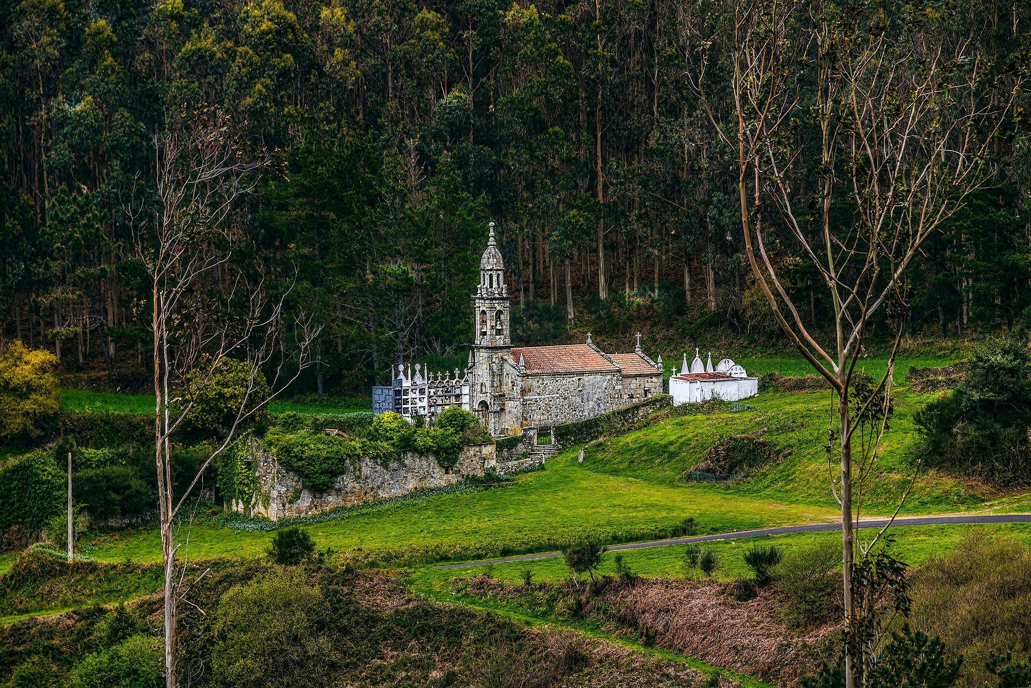 Parish Church in Galicia, Spain by Jason Levi