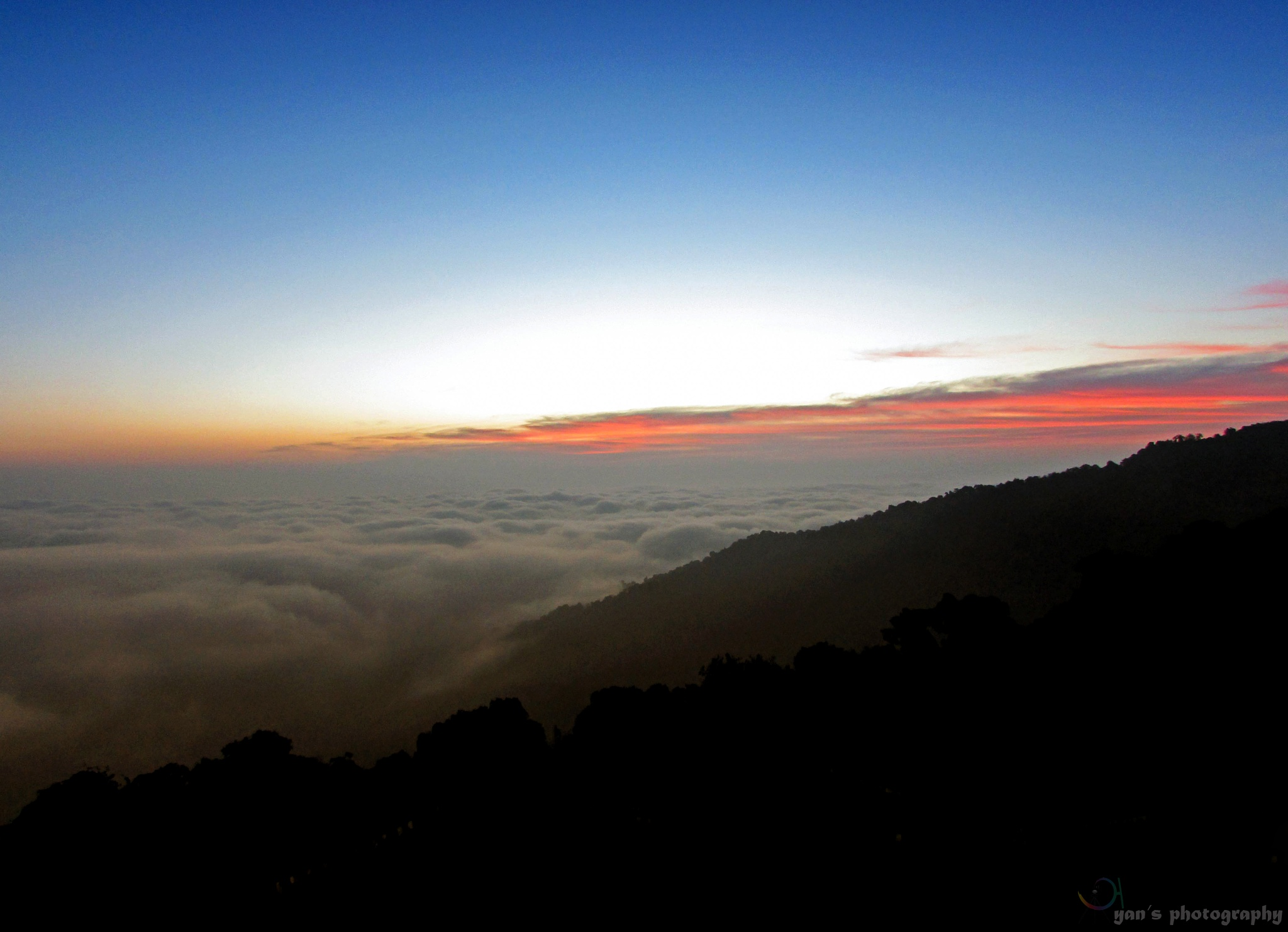 Just before the sunrise by Ayan Mazumder