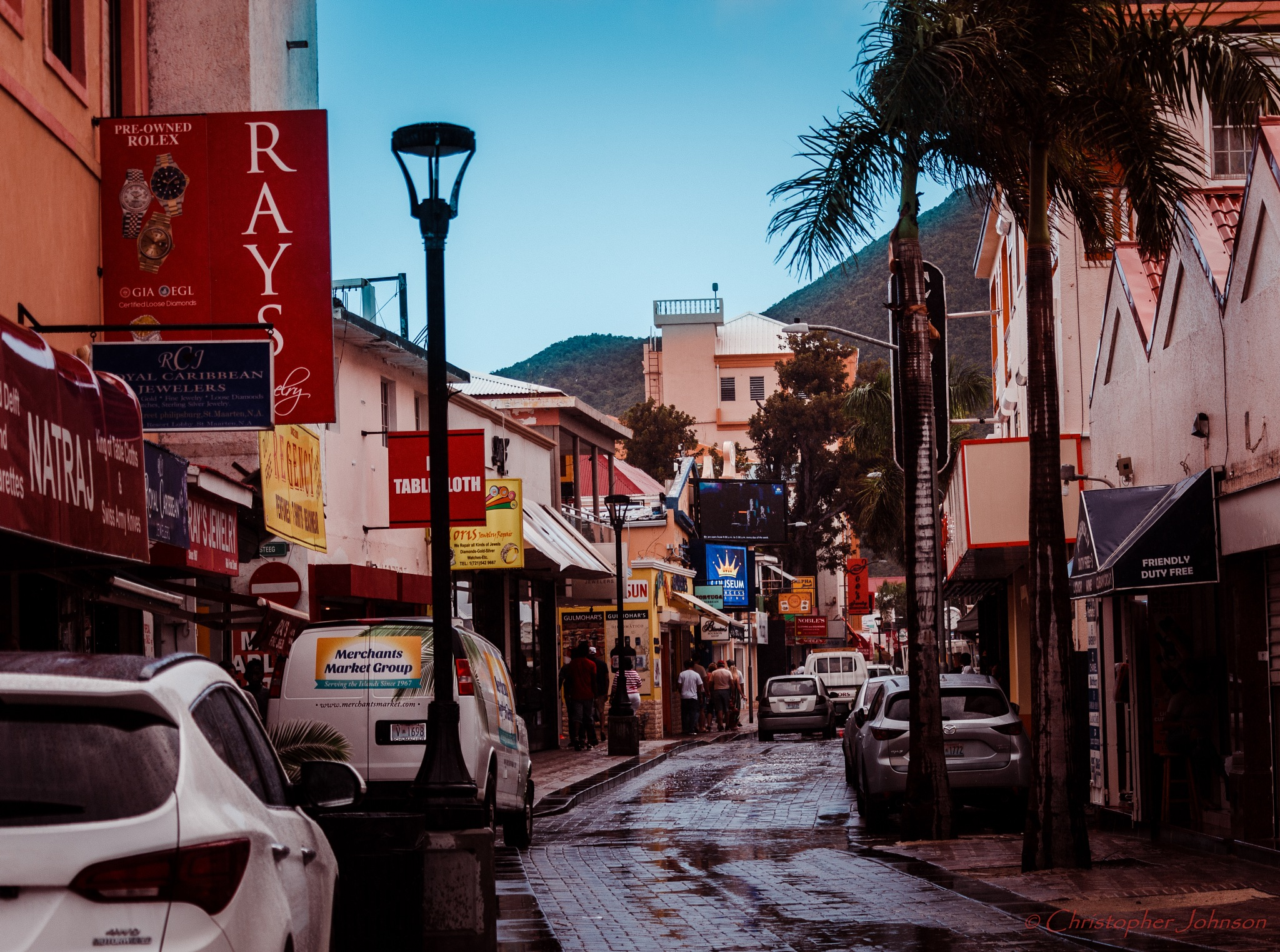 Streets of Philipsburg by Christopher S Johnson