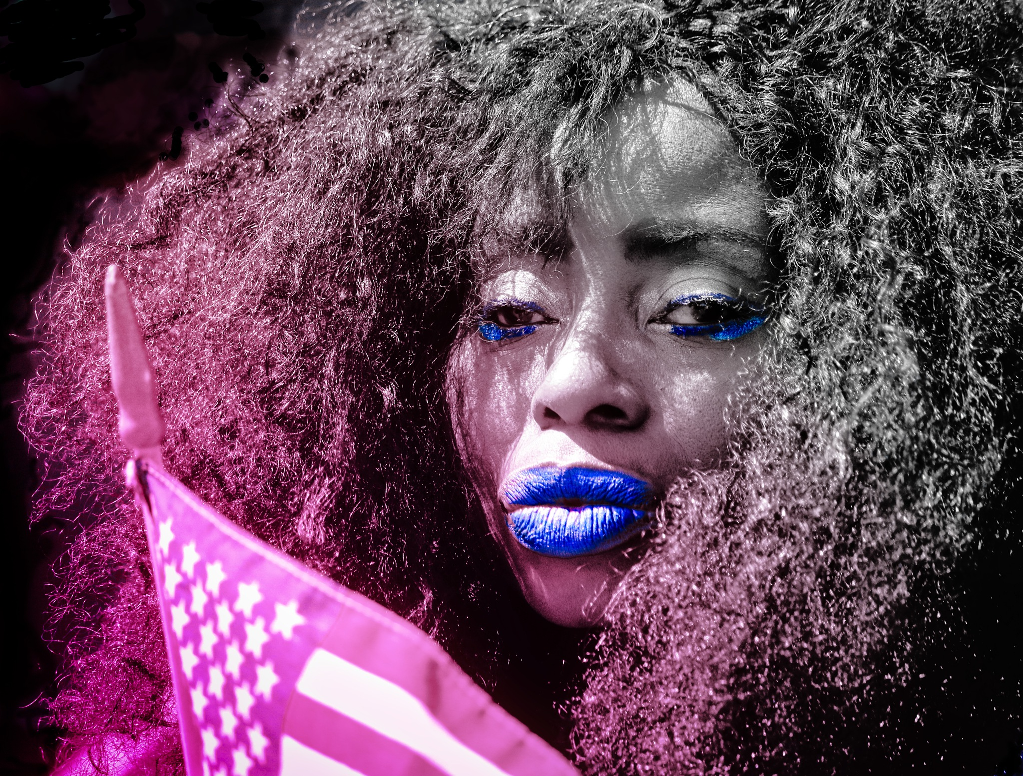 Tears of the red white and blue by Christopher S Johnson
