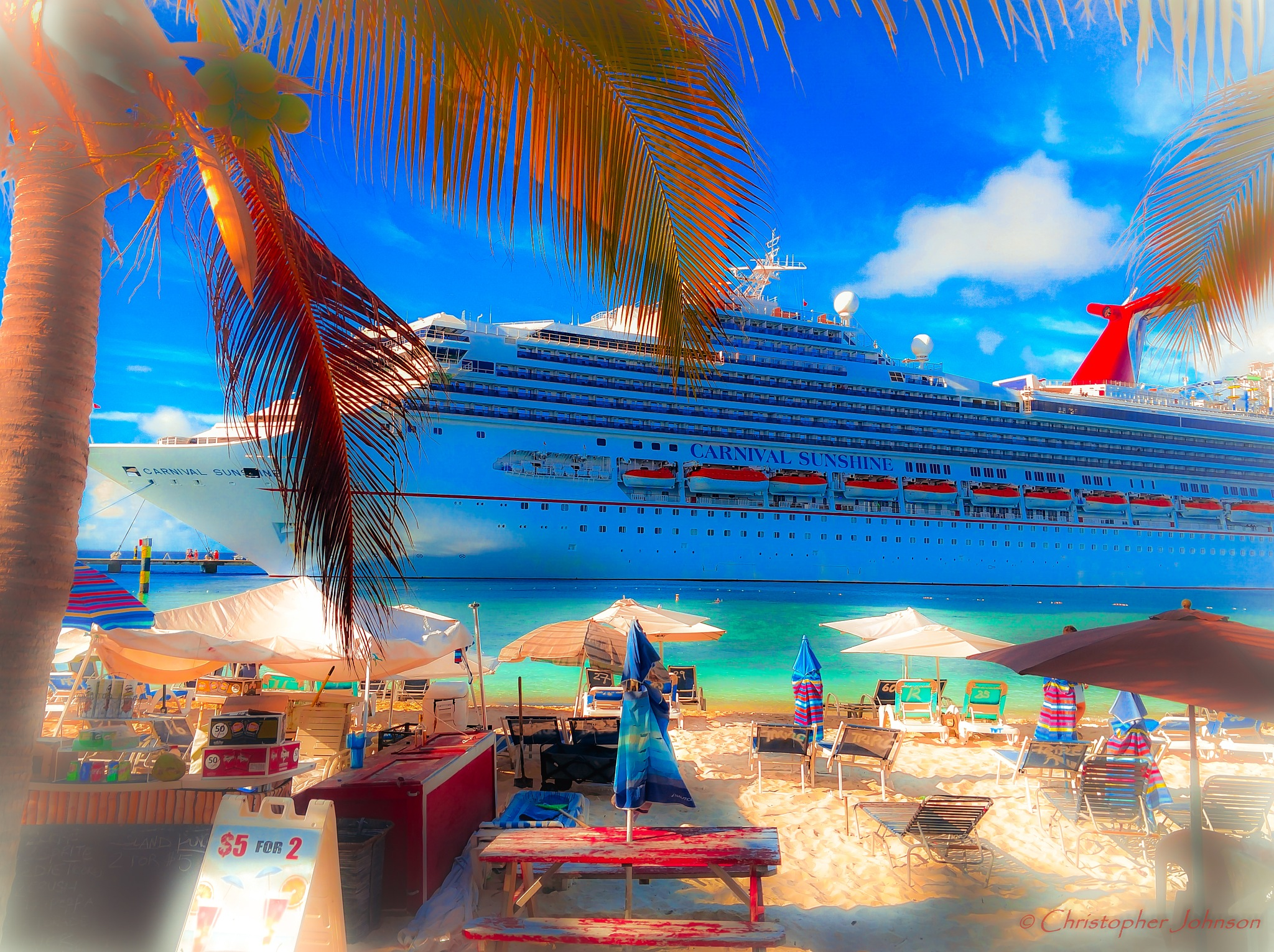 Docked at Paradise by Christopher S Johnson