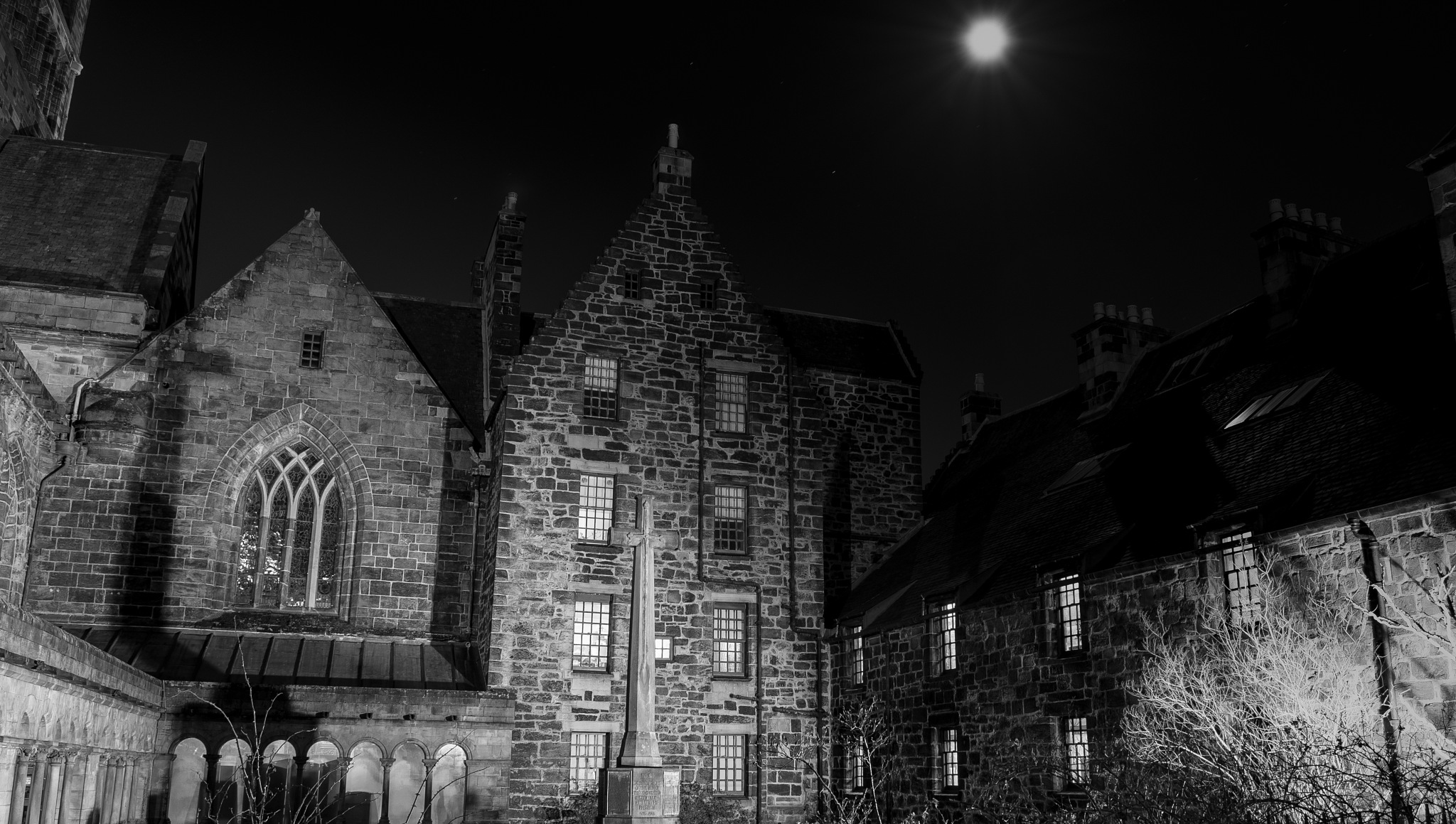 Abbey by Moonlight by storm