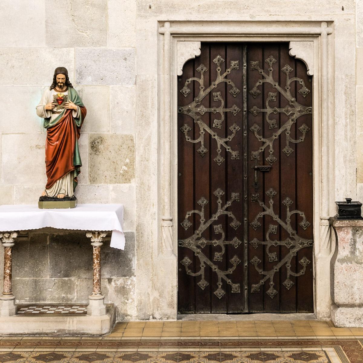 church door by Peter Brückner