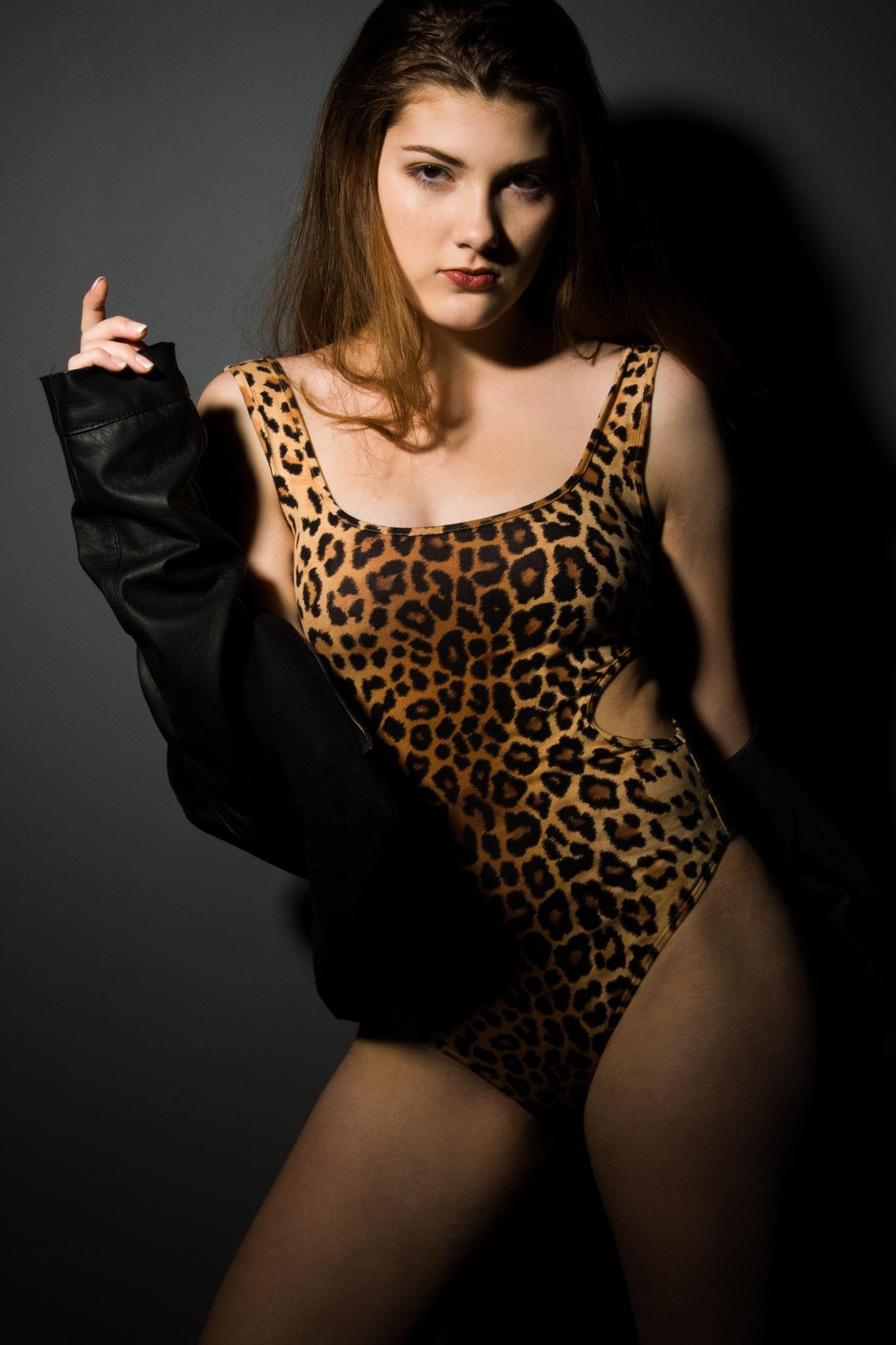 Mac the Leopard by Scott Doner