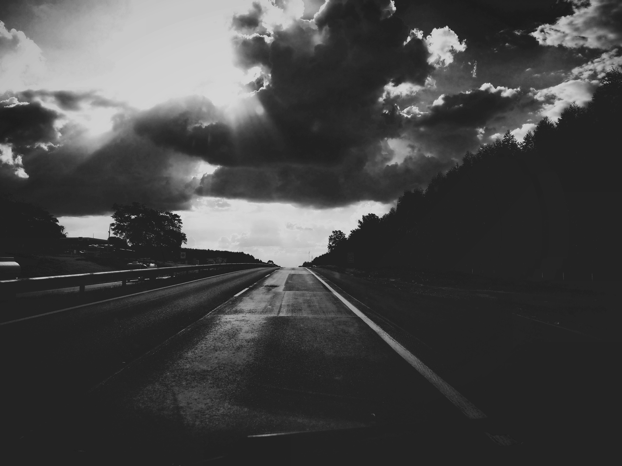 on the bw road ❤ by bianca vasconcellos