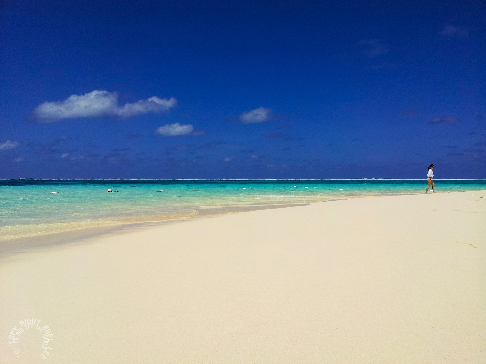 beautiful white beachs. by Adel Lee