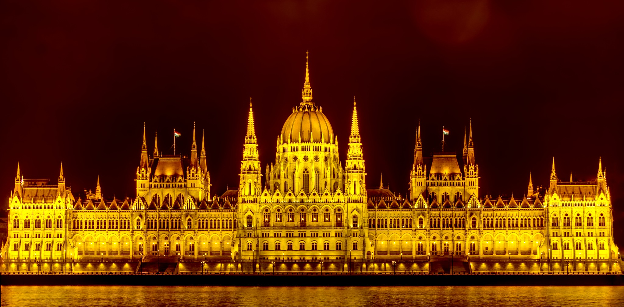 Parliament in Budapest by Piet de Rijcke